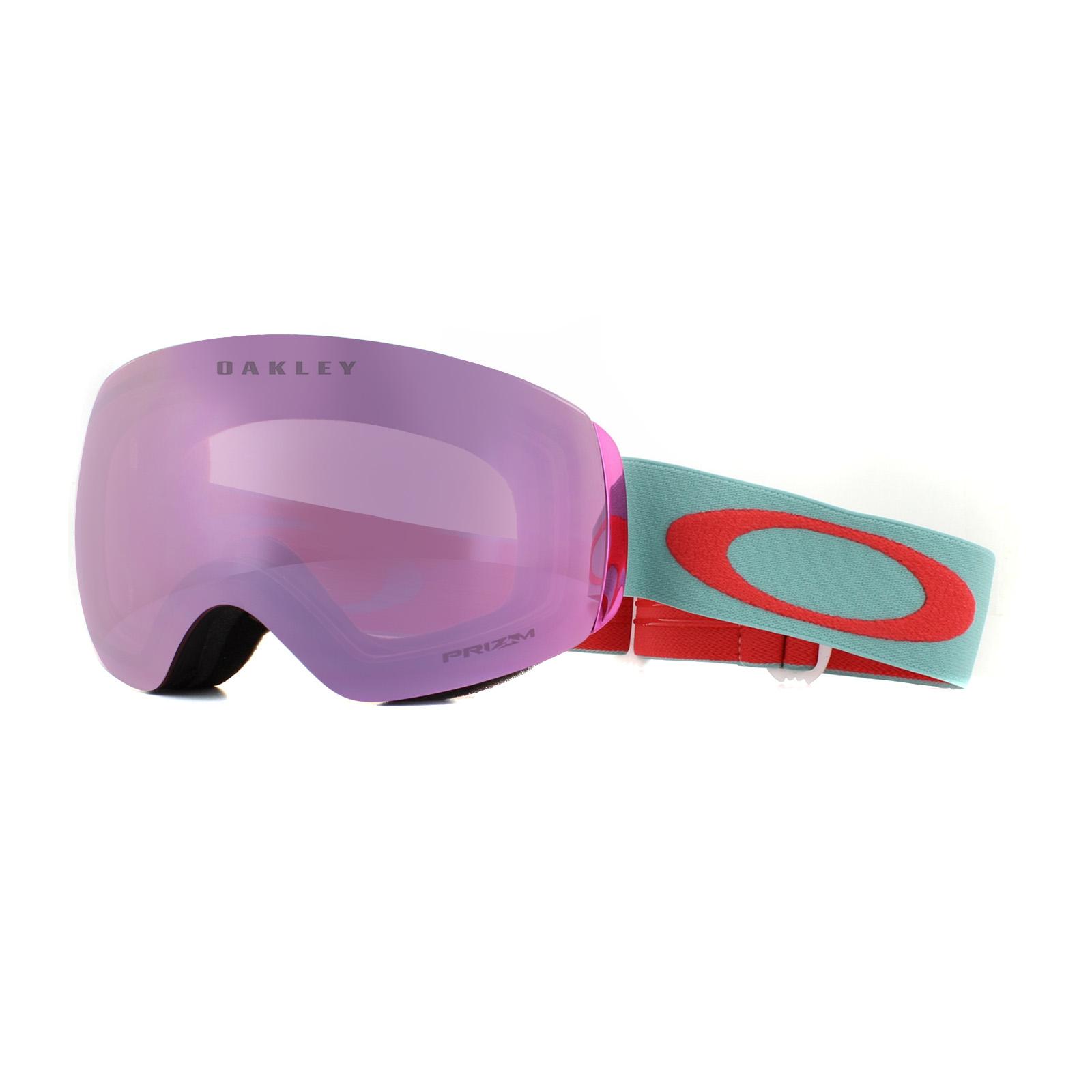 bf80d21411e Sentinel Oakley Ski Goggles Flight Deck XM OO7064-77 Arctic Surf Coral  Prizm HI Pink Irid