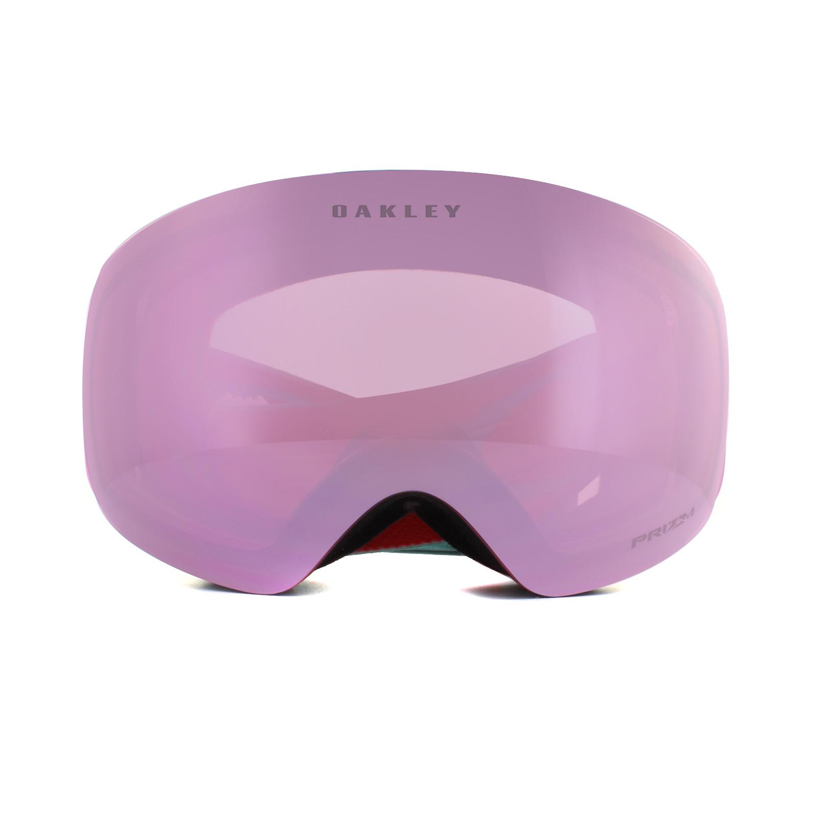 a9778372384 Sentinel Oakley Ski Goggles Flight Deck XM OO7064-77 Arctic Surf Coral Prizm  HI Pink Irid
