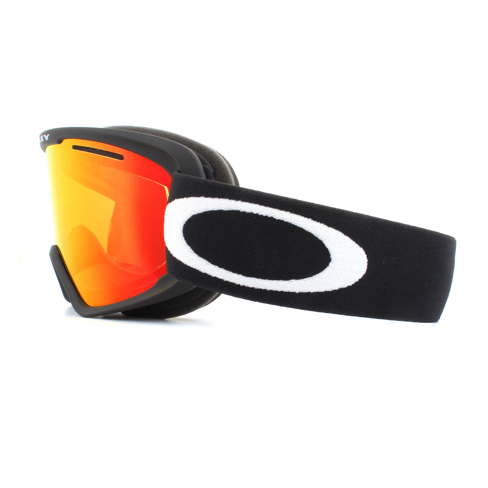 bf19a2901d Sentinel Oakley Ski Goggles O2 XM OO7066-52 Matte Black Fire Iridium