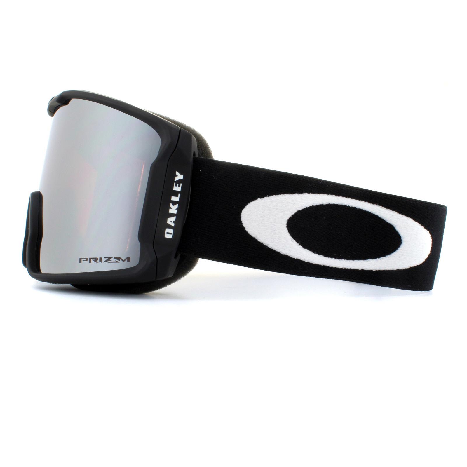 724d0b65f50 Sentinel Oakley Ski Goggles Line Miner XM OO7093-02 Matte Black Prizm Black  Iridium