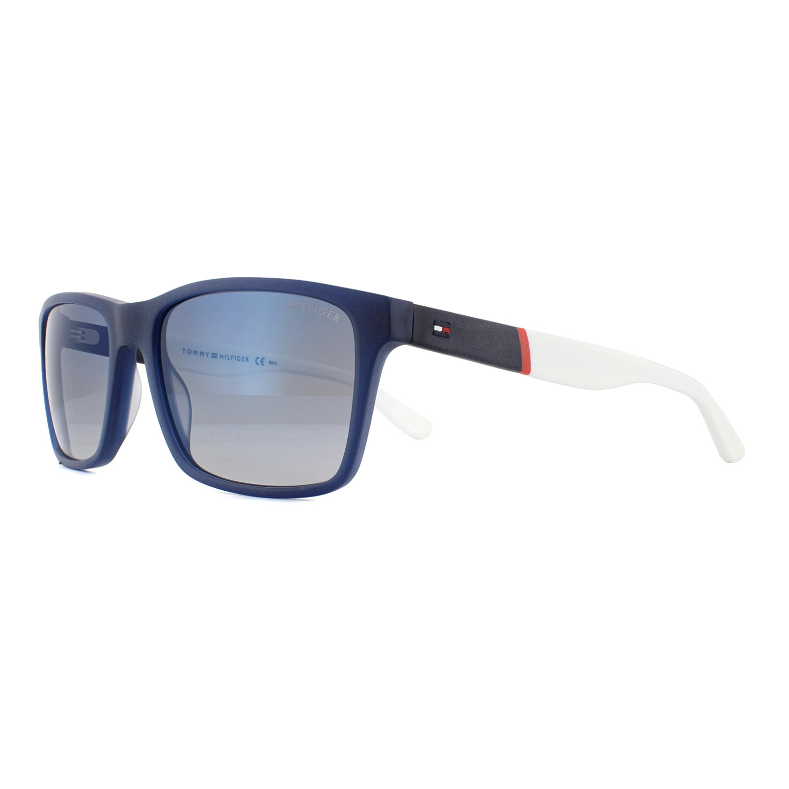4b6245f140d0c Sentinel Tommy Hilfiger Sunglasses TH 1405 S H1O DK Blue Red White Light  Blue Sky Flash
