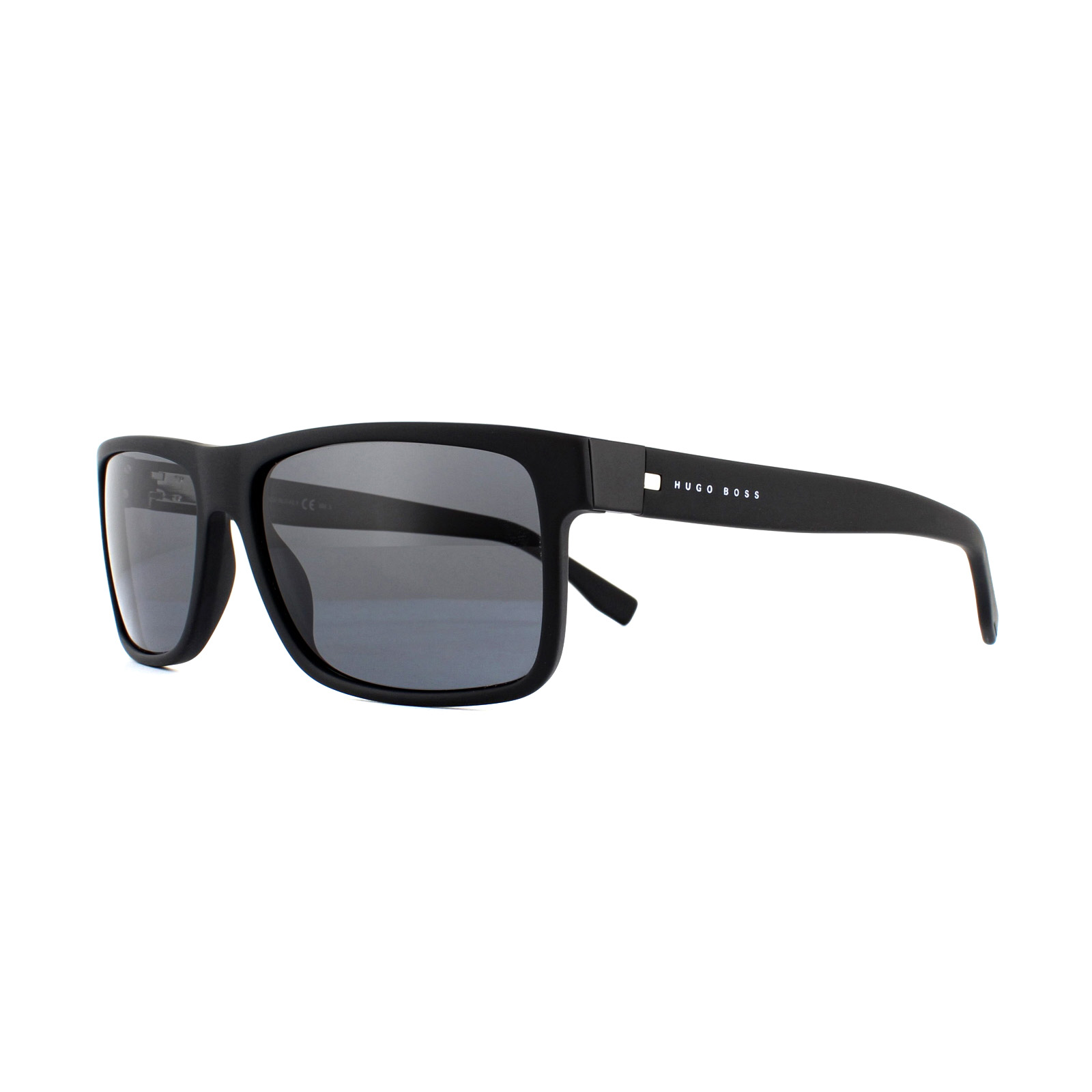 Hugo Boss occhiali da sole 0599//S T7O TD Matte Black Grey Polarized