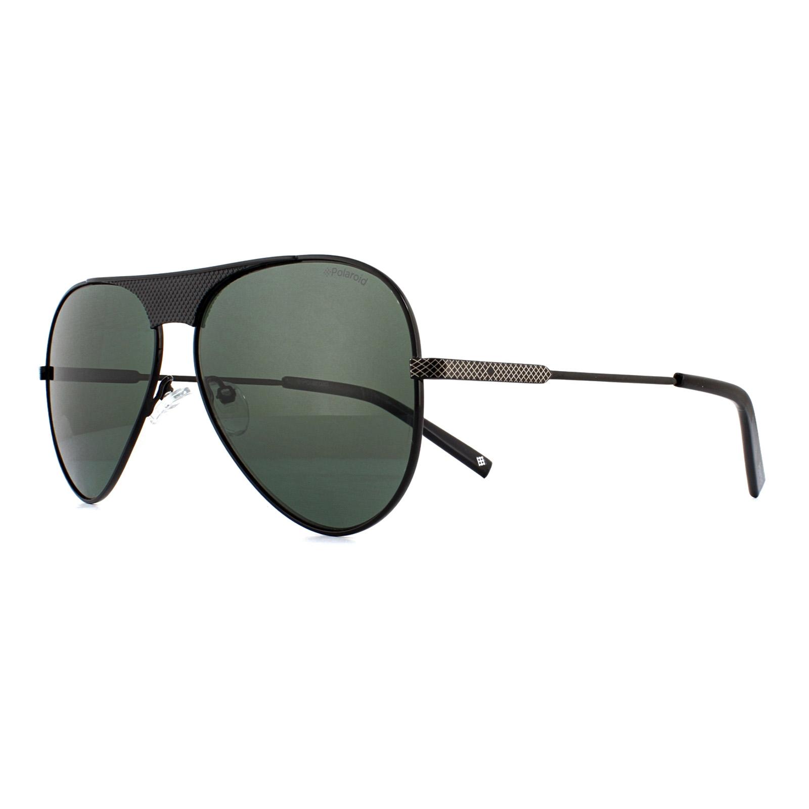 f1f614aa490 Sentinel Polaroid Sunglasses PLD 2067 S X 807 UC Black Green Polarized