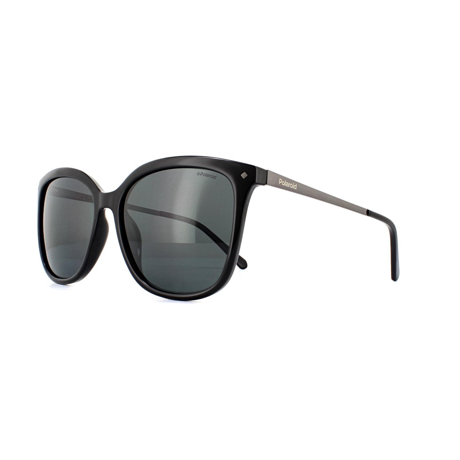 Polaroid Sunglasses PLD 4043//S CVS Y2 Black Grey Polarized