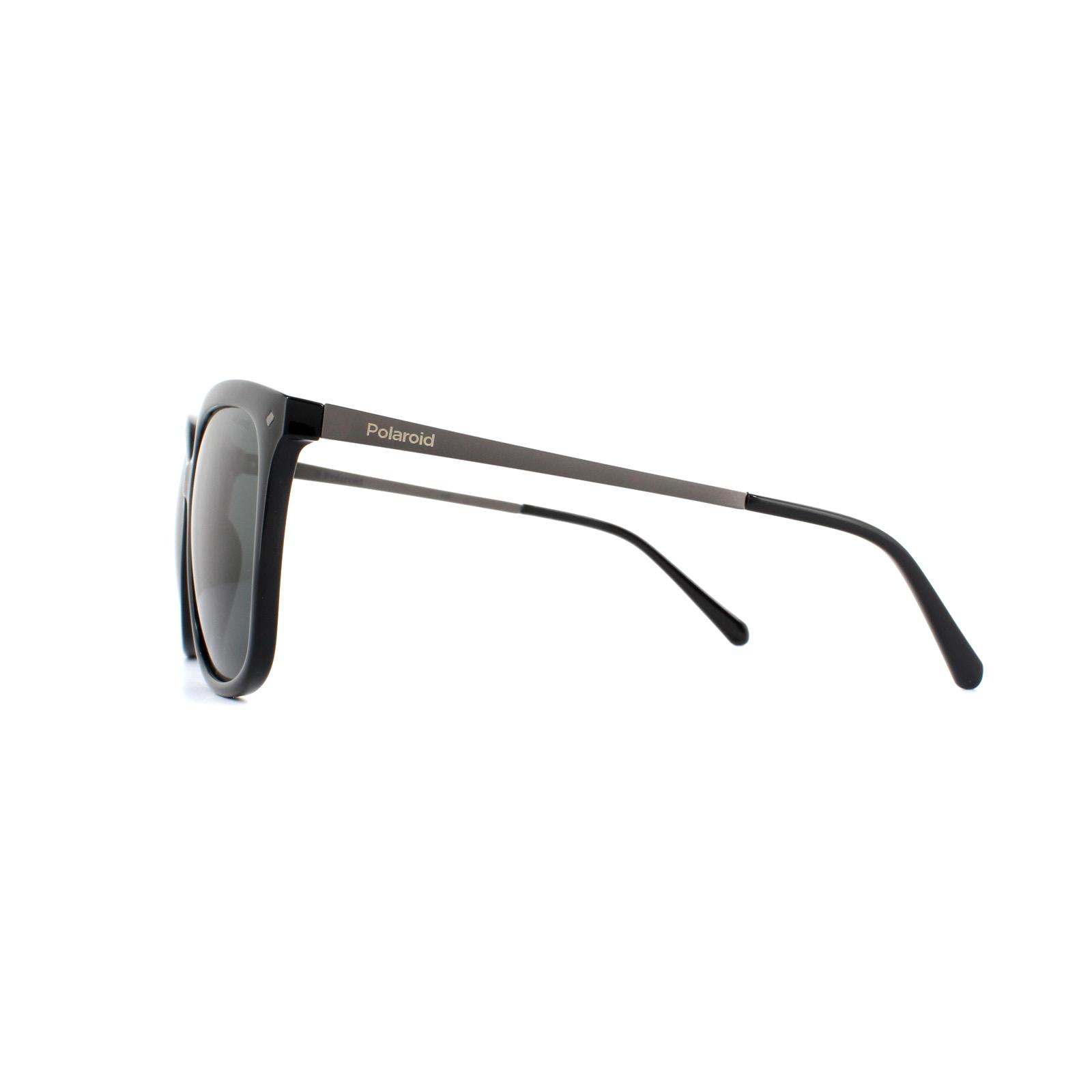 69cbe38fd7 Sentinel Polaroid Sunglasses PLD 4043 S CVS Y2 Black Grey Polarized