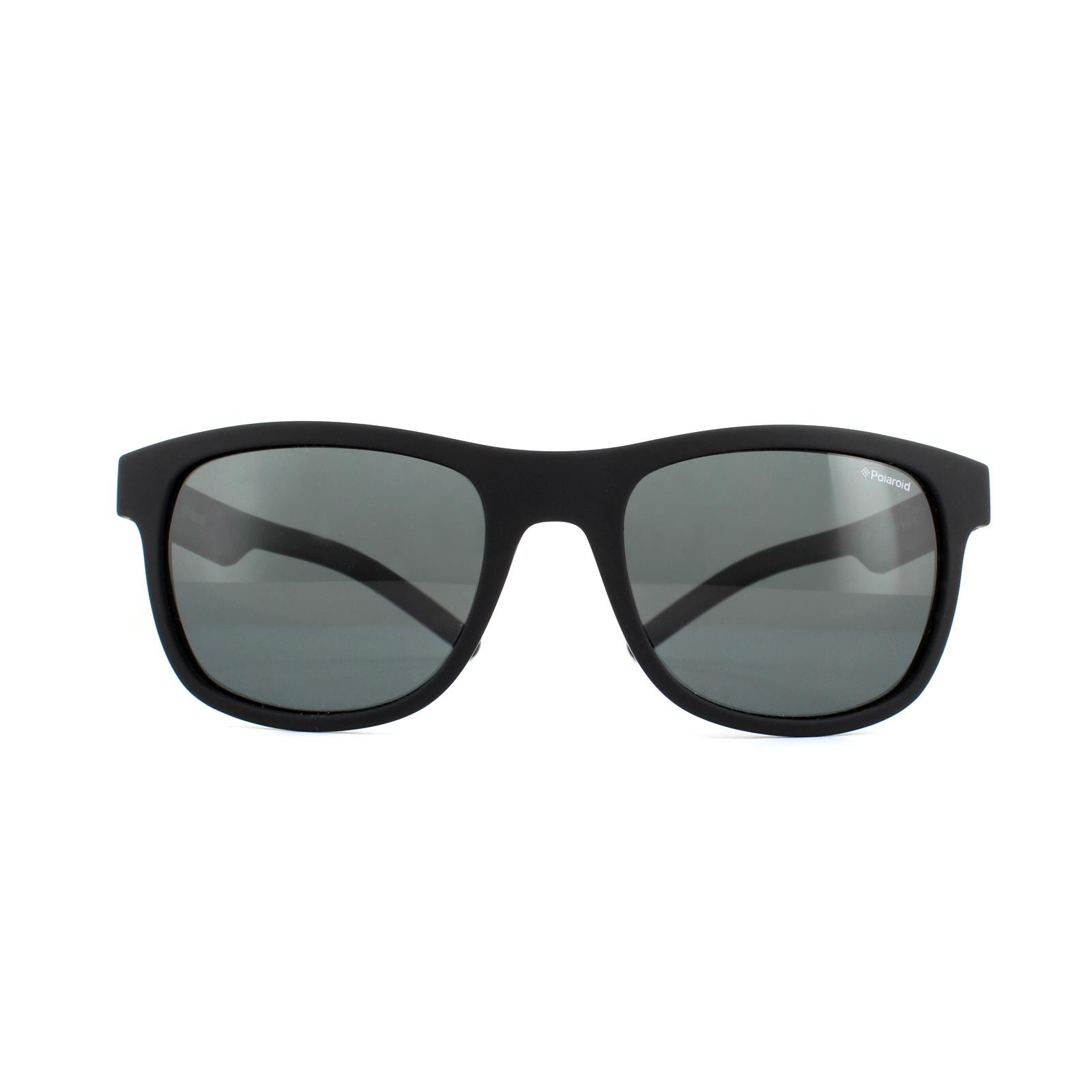 cbfafca40a Sentinel Polaroid Sunglasses PLD 6015 S YYV Y2 Rubber Black Grey Polarized