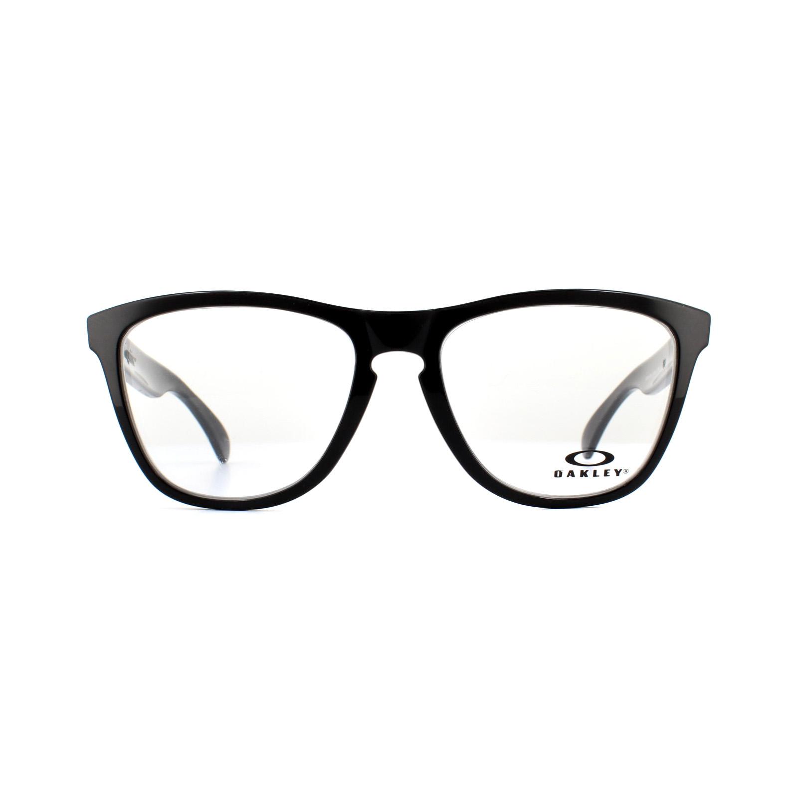 f8bb56888a Oakley Glasses Frames Frogskins OX8131-05 Black 54mm 888392320988