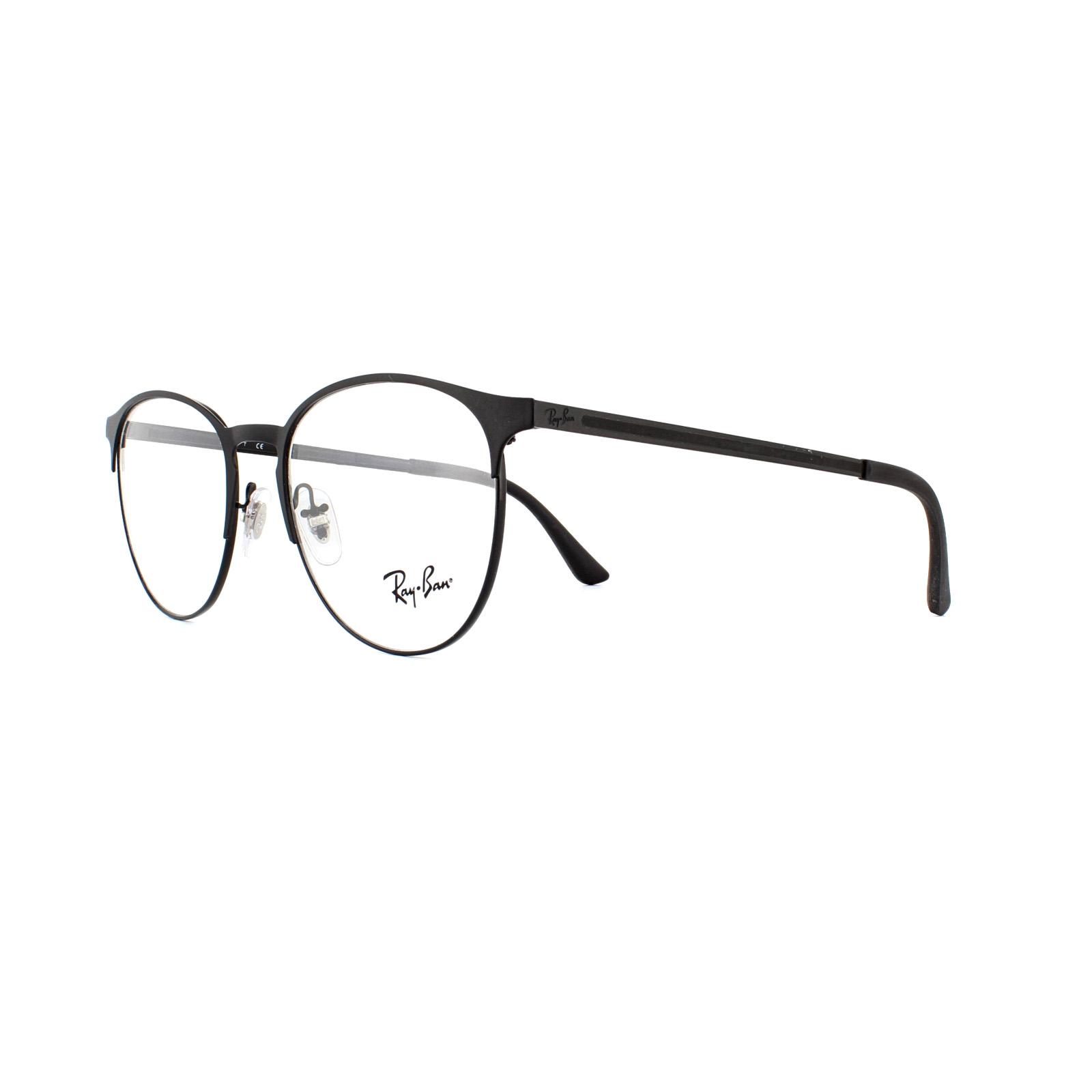 5e183b5097f Ray-Ban Glasses Frames 6375 2944 Black 51mm 8053672767889