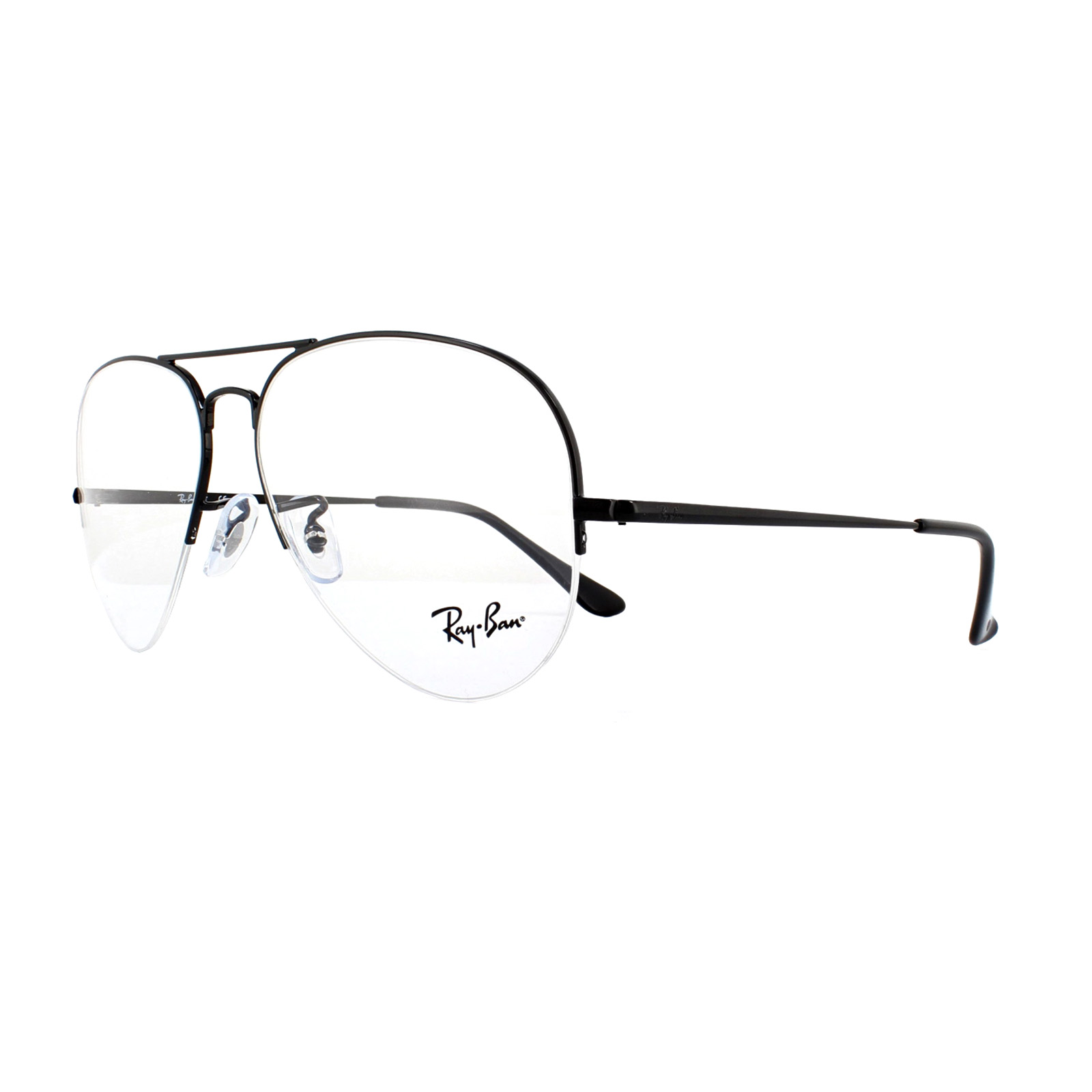 6d773f7126 Ray-Ban Glasses Frames 6589 2509 Black 59mm 8053672864151