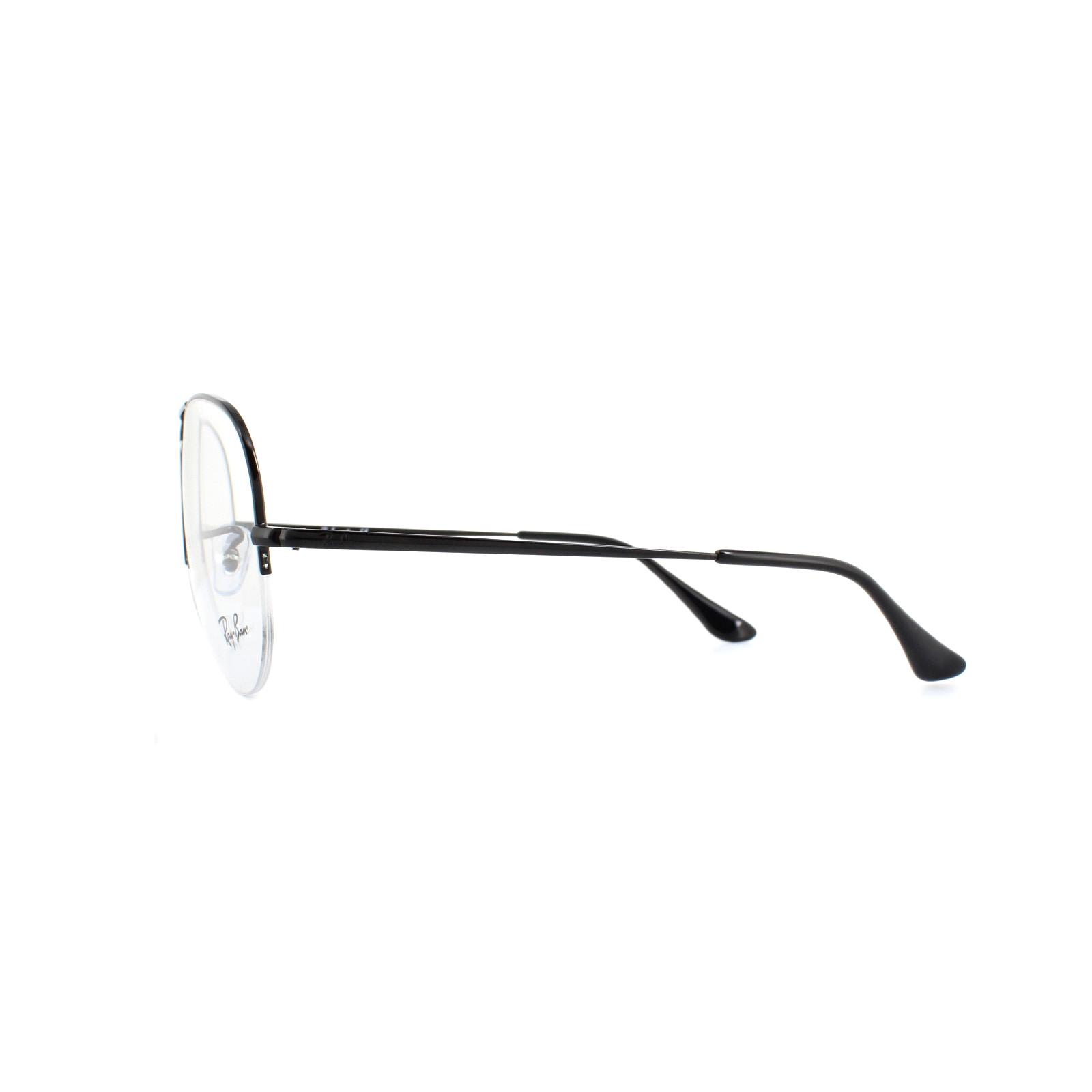 996e9d27334 Ray-Ban Glasses Frames 6589 2509 Black 59mm 8053672864151
