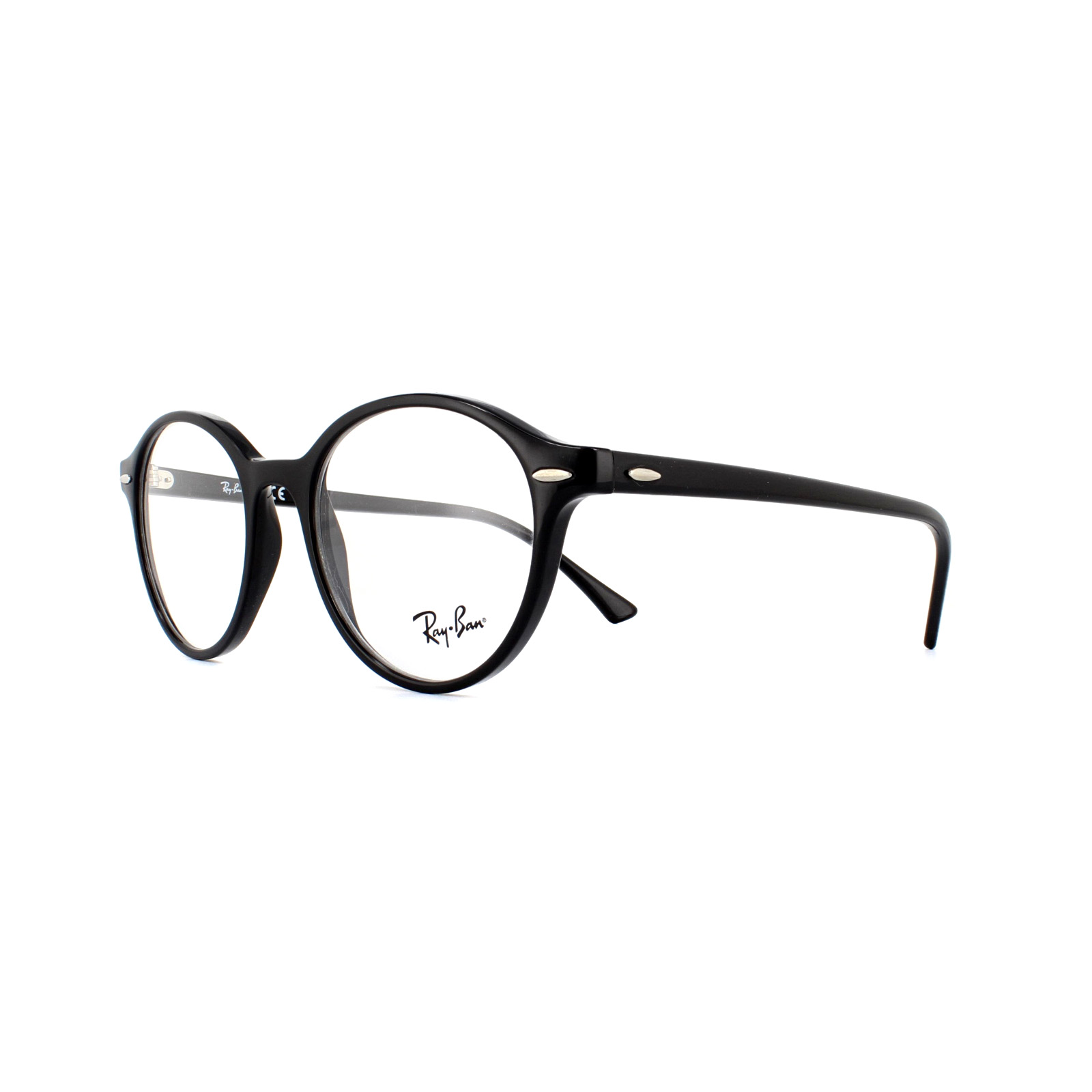 0175925f5f Details about Ray-Ban Glasses Frames 7118 Dean 2000 Black 50mm