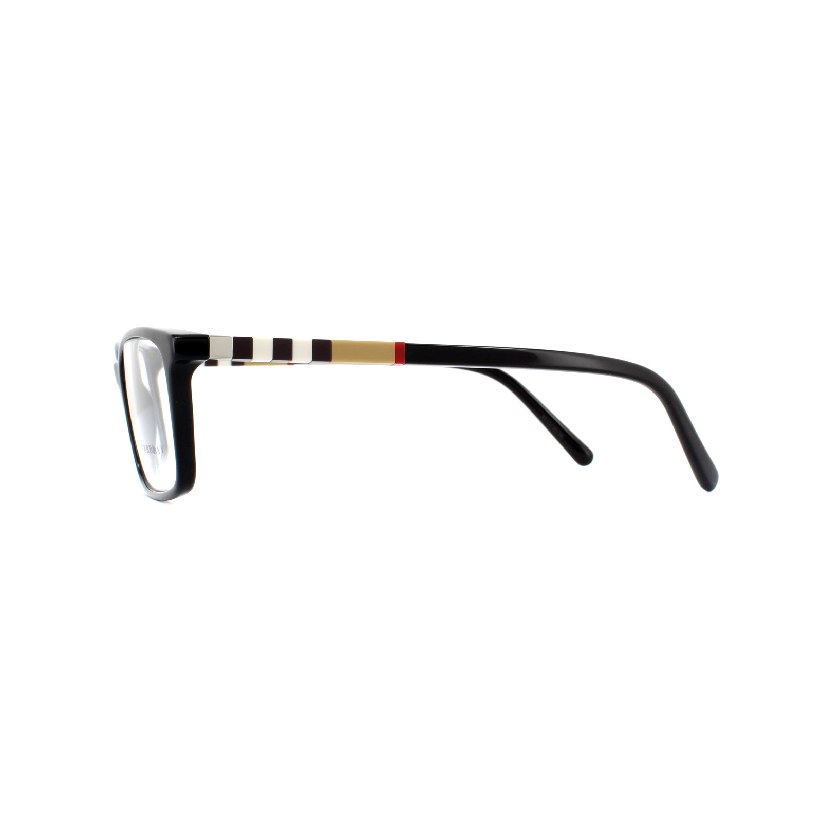 e6c29912dbd Burberry Glasses Frames BE 2199 3001 Black 53mm Mens 8053672417302 ...