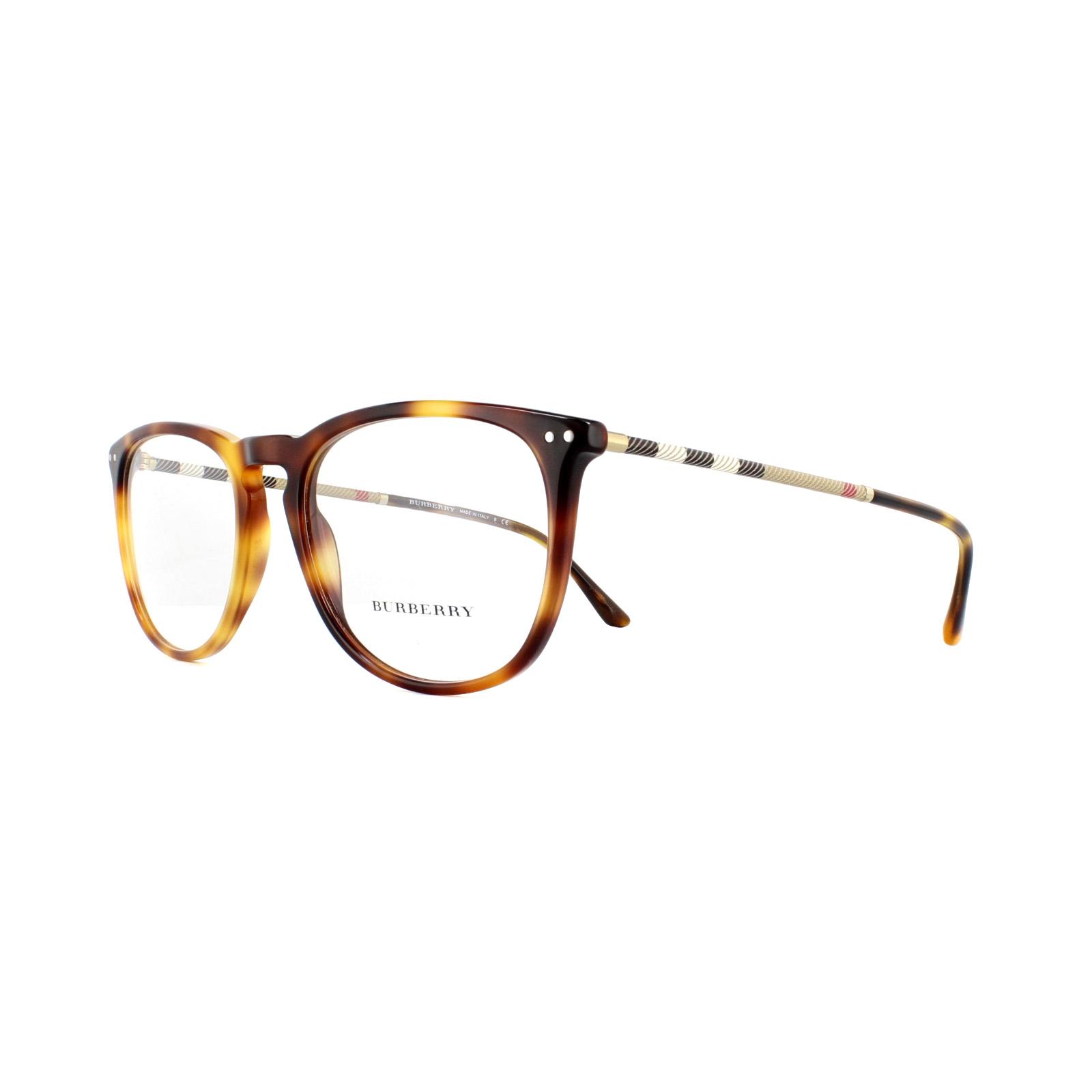 a28e0a7436a Sentinel Burberry Glasses Frames BE 2258Q 3316 Light Havana 55mm Mens