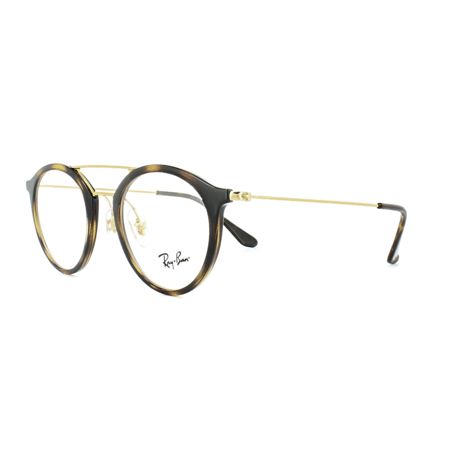 c3a20b1f423 Sentinel Ray-Ban Glasses Frames 7097 2012 Dark Tortoise 49mm Mens