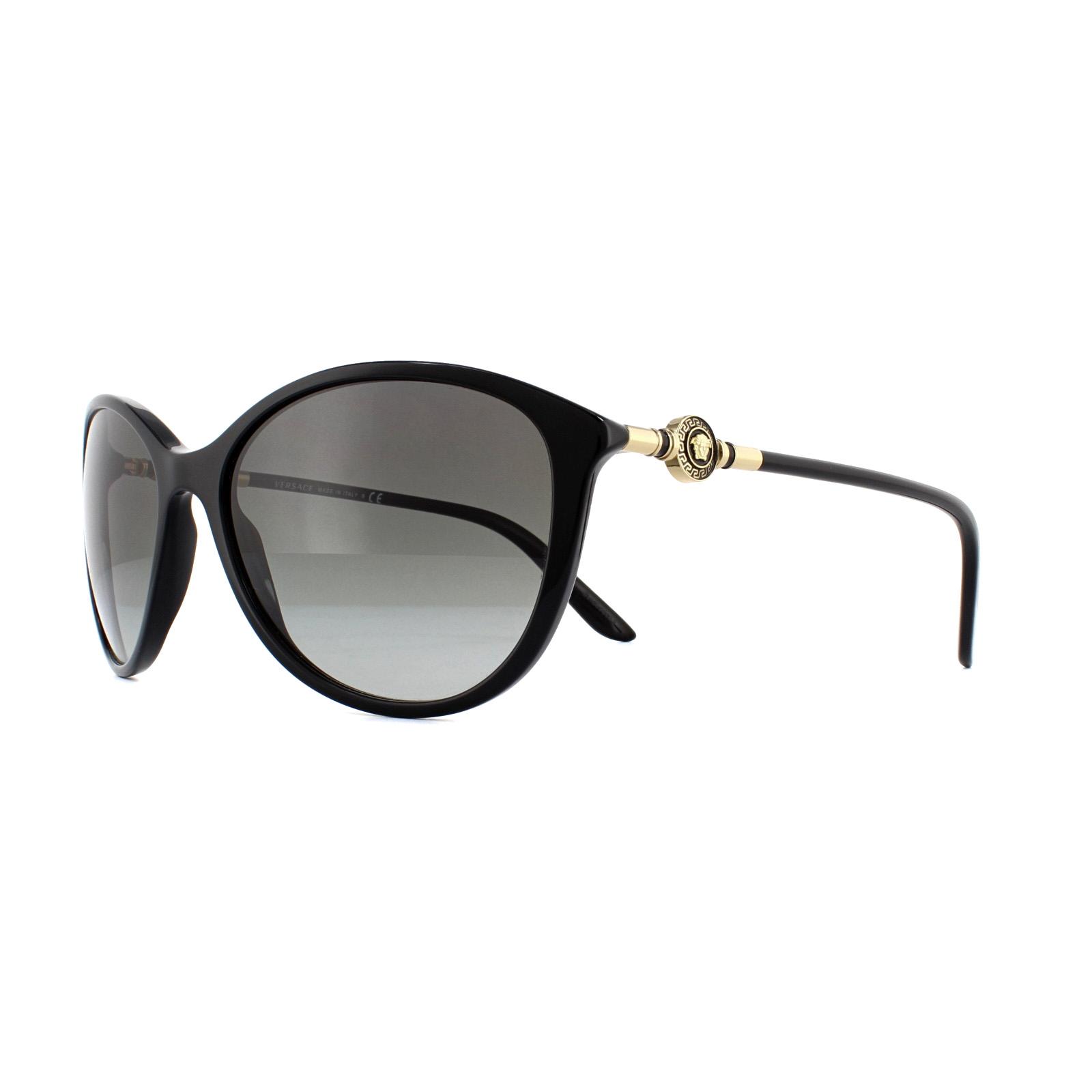 41dd843234 Sentinel Versace Sunglasses 4251 GB1/11 Black Grey Gradient