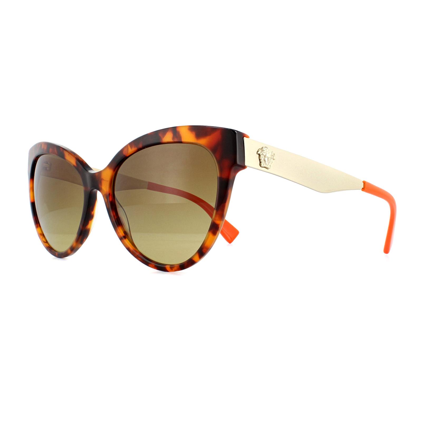 3f3fbfeb123 Versace Sunglasses VE4338 524413 Havana Brown Gradient 8053672754711 ...
