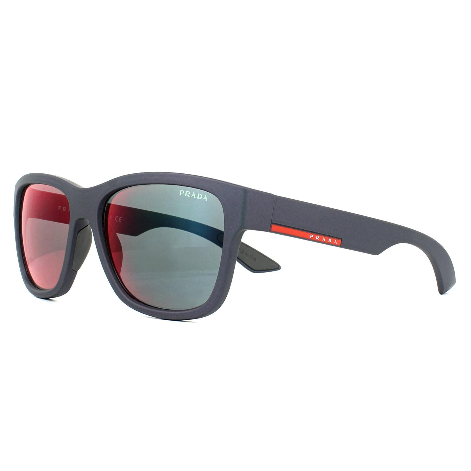03qs Shot Sunglasses Prada Grey Rubber Details About Sport Red Mirror Ubx9q1 54AR3Ljq