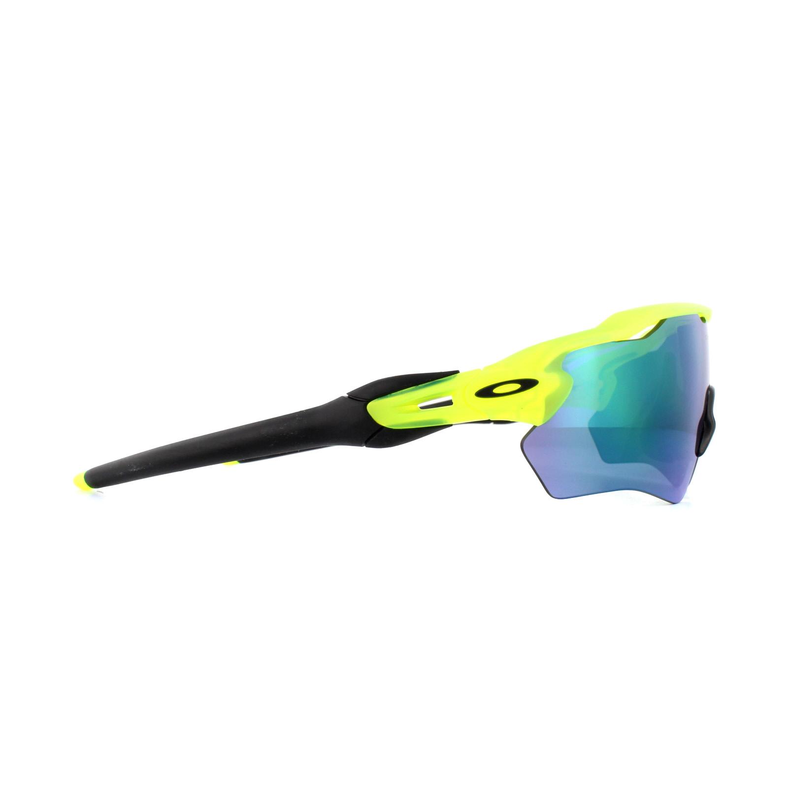 6c9c1c3c41 Sentinel Oakley Sunglasses Radar EV XS Path Youth Fit OJ9001-02 Matte  Uranium Jade Iridiu
