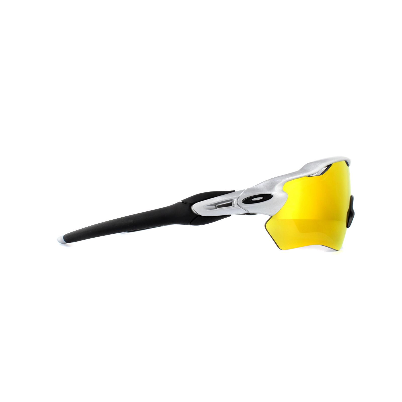 613044b5572 Sentinel Oakley Sunglasses Radar EV XS Path Youth Fit OJ9001-08 Silver Fire  Iridium Polar