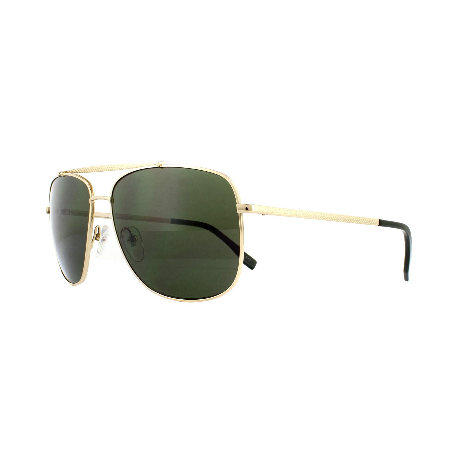 91c8c2d82a95 Lacoste Sunglasses L188S 714 Gold Green 886895290555