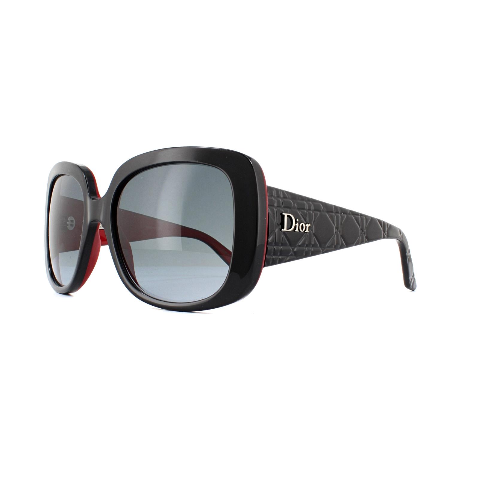 5c405a7b9ed Sentinel Dior Sunglasses Dior Lady Lady1D EL4 HD Black Grey Gradient