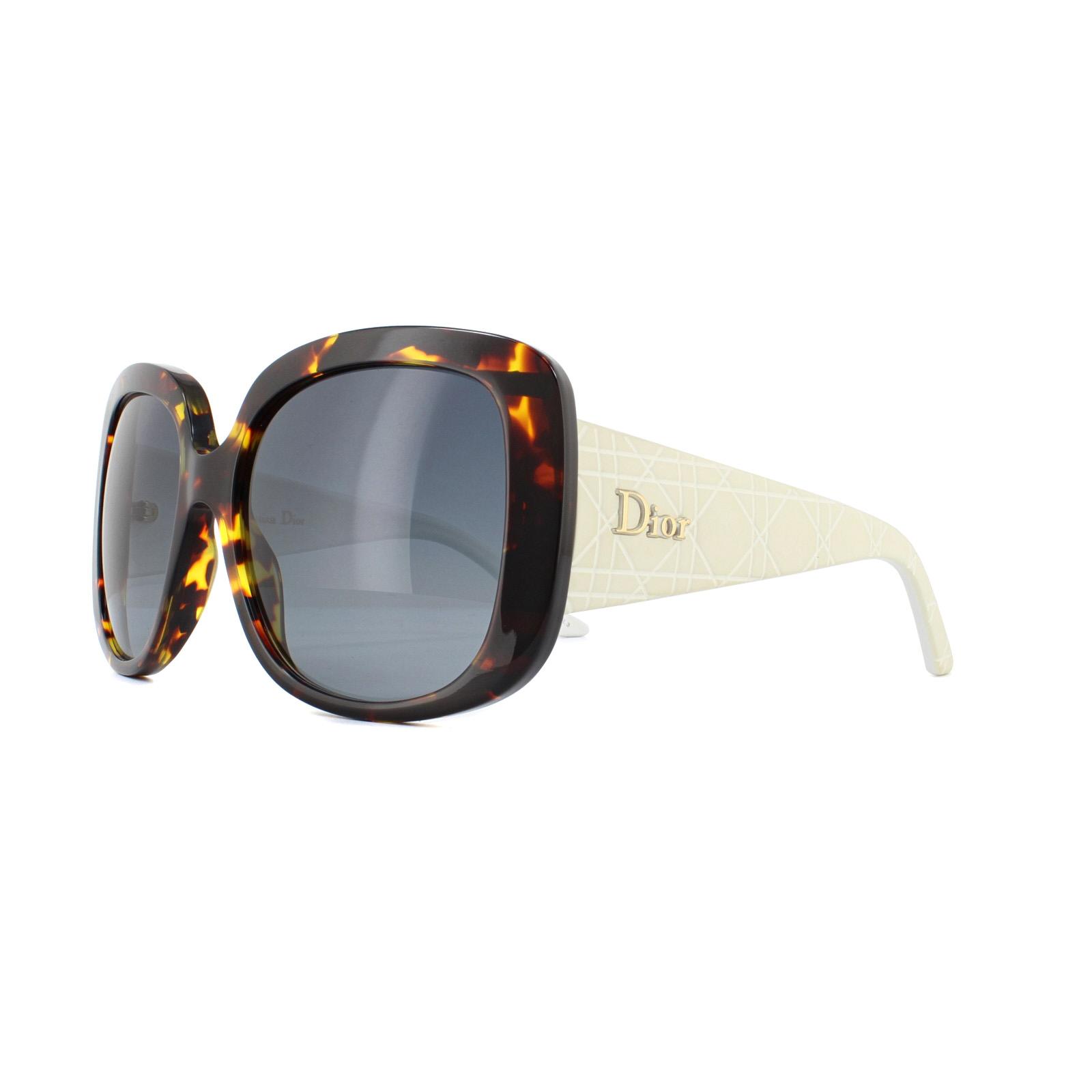 289f08e57159 Dior Sunglasses Dior Lady Lady1S 04I HD Havana White Grey Gradient ...