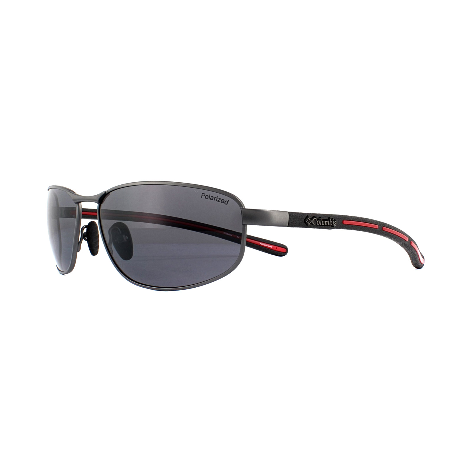 2ff15c21f9 Sentinel Columbia Sunglasses Ripsaw 100 C02 Gunmetal Black Grey Gradient  Polarized