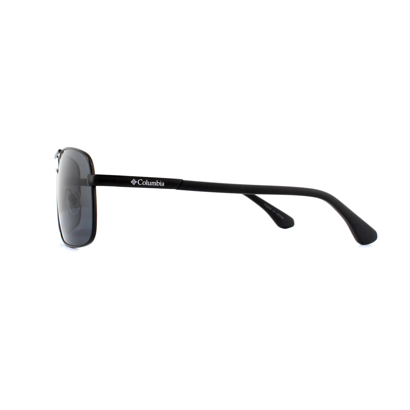 ab54bf9b8d8c Sentinel Columbia Sunglasses CBC805 C02 Matte Black Dark Grey Gradient  Polarized