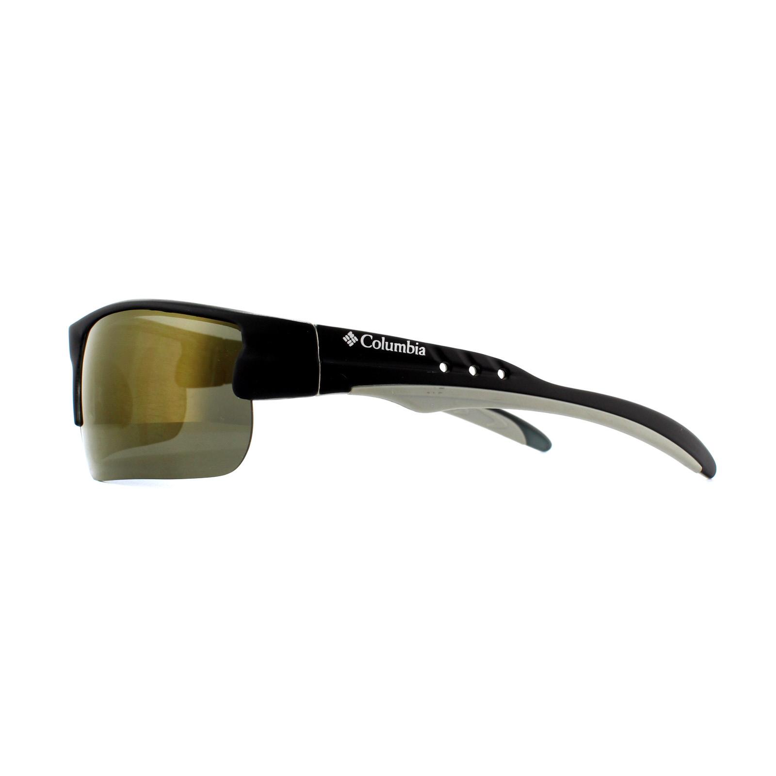 Columbia Sunglasses 903 03 Matte Black Brown Polarized