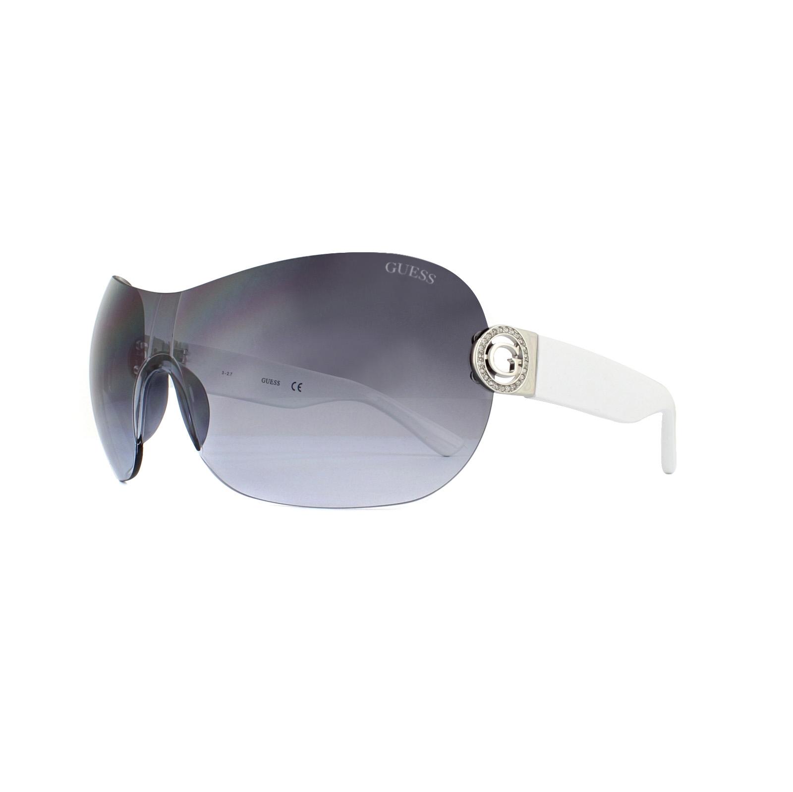 71d979d516c Guess Sunglasses GU7407 21C White Smoke Mirror 664689750757