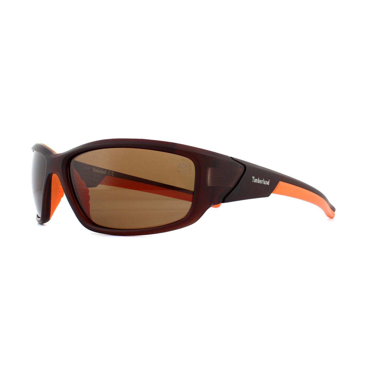 41b2aa7ffcc Sentinel Timberland Sunglasses TB9049 49H Matte Dark Brown Brown Polarized