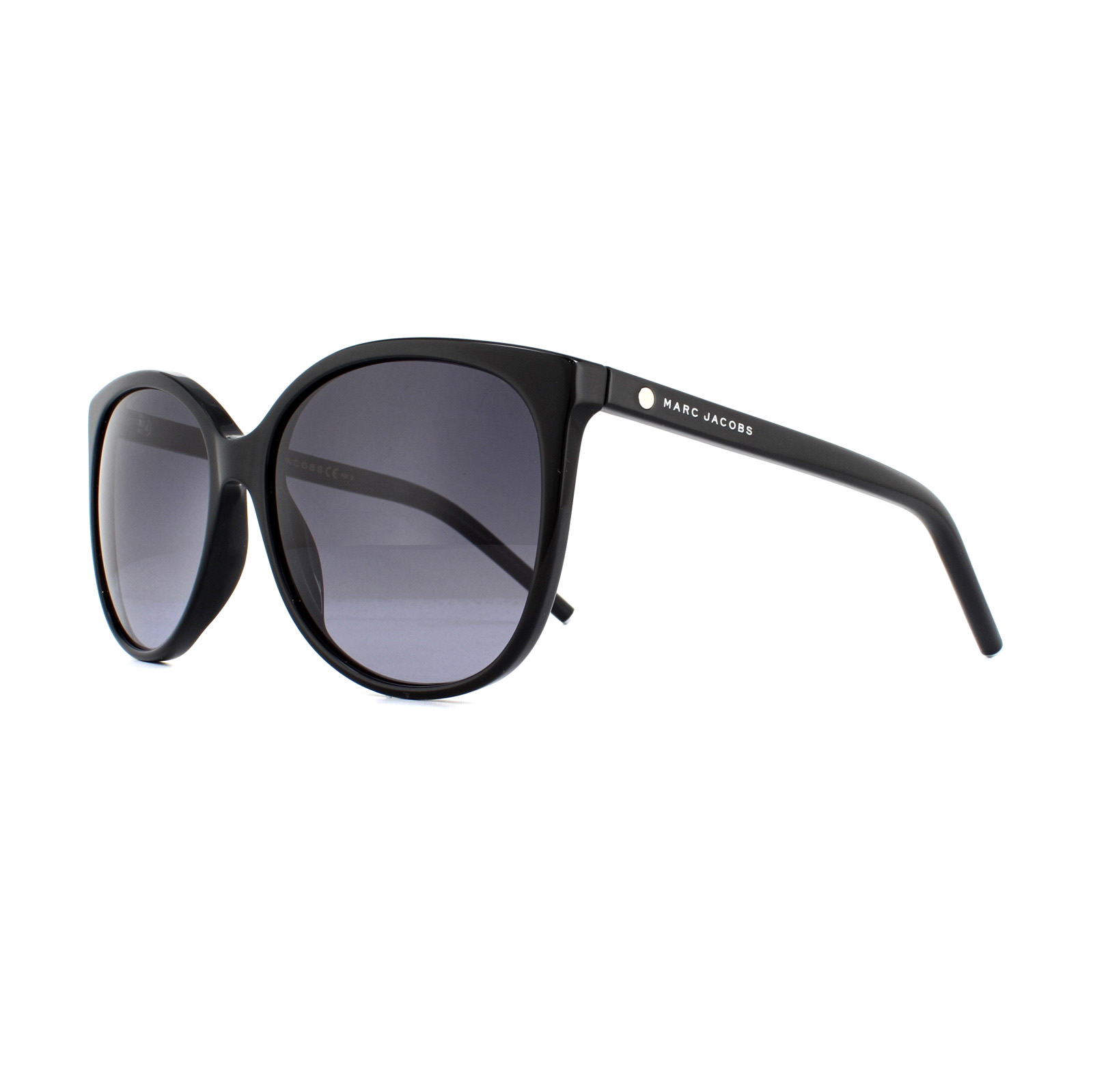 7cc927bab2 Sentinel Marc Jacobs Sunglasses MARC 79 S 807 HD Black Grey Gradient