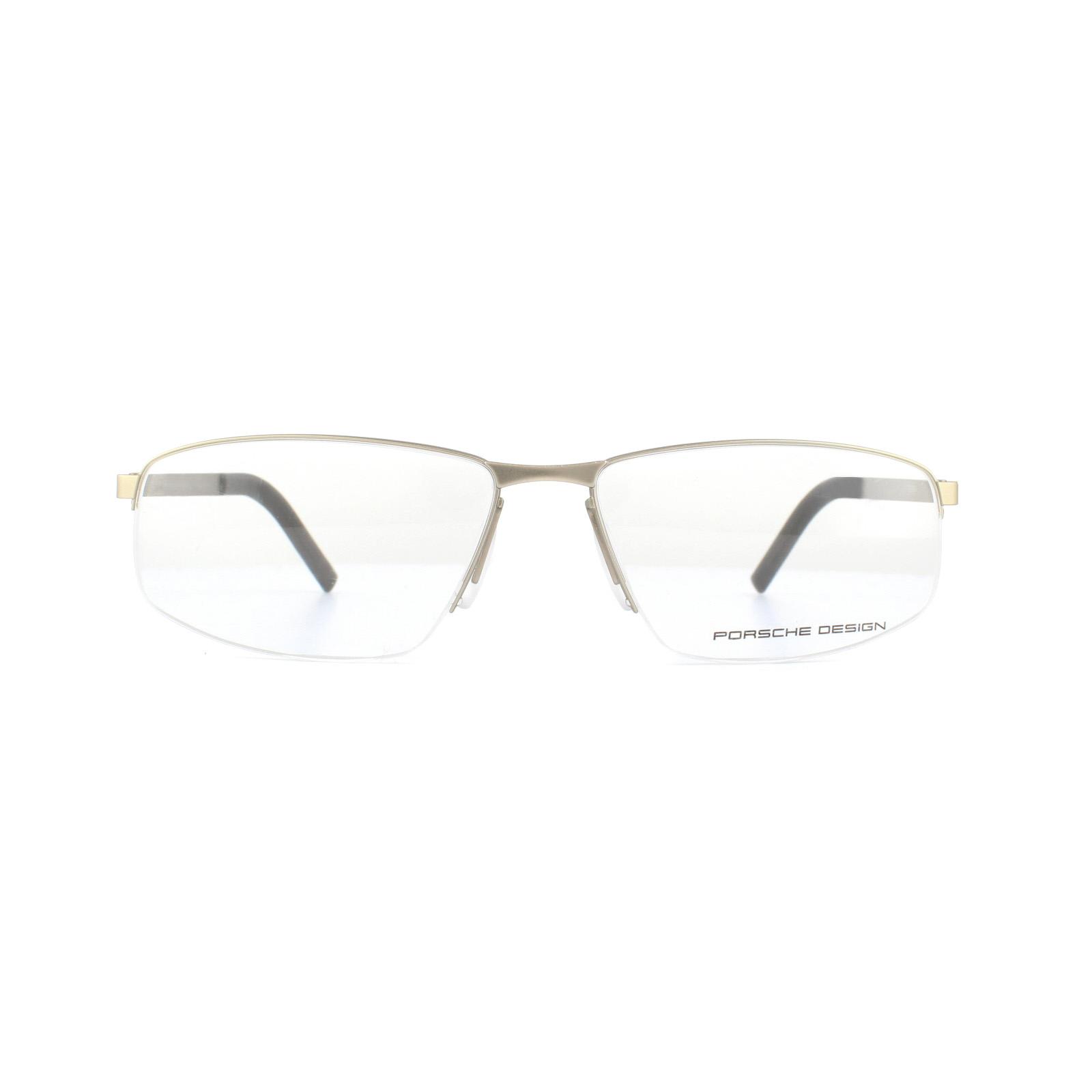 96471ec6e1ed Porsche Design Glasses Frames P8284 B Light Gold 59mm 4046901416881 ...