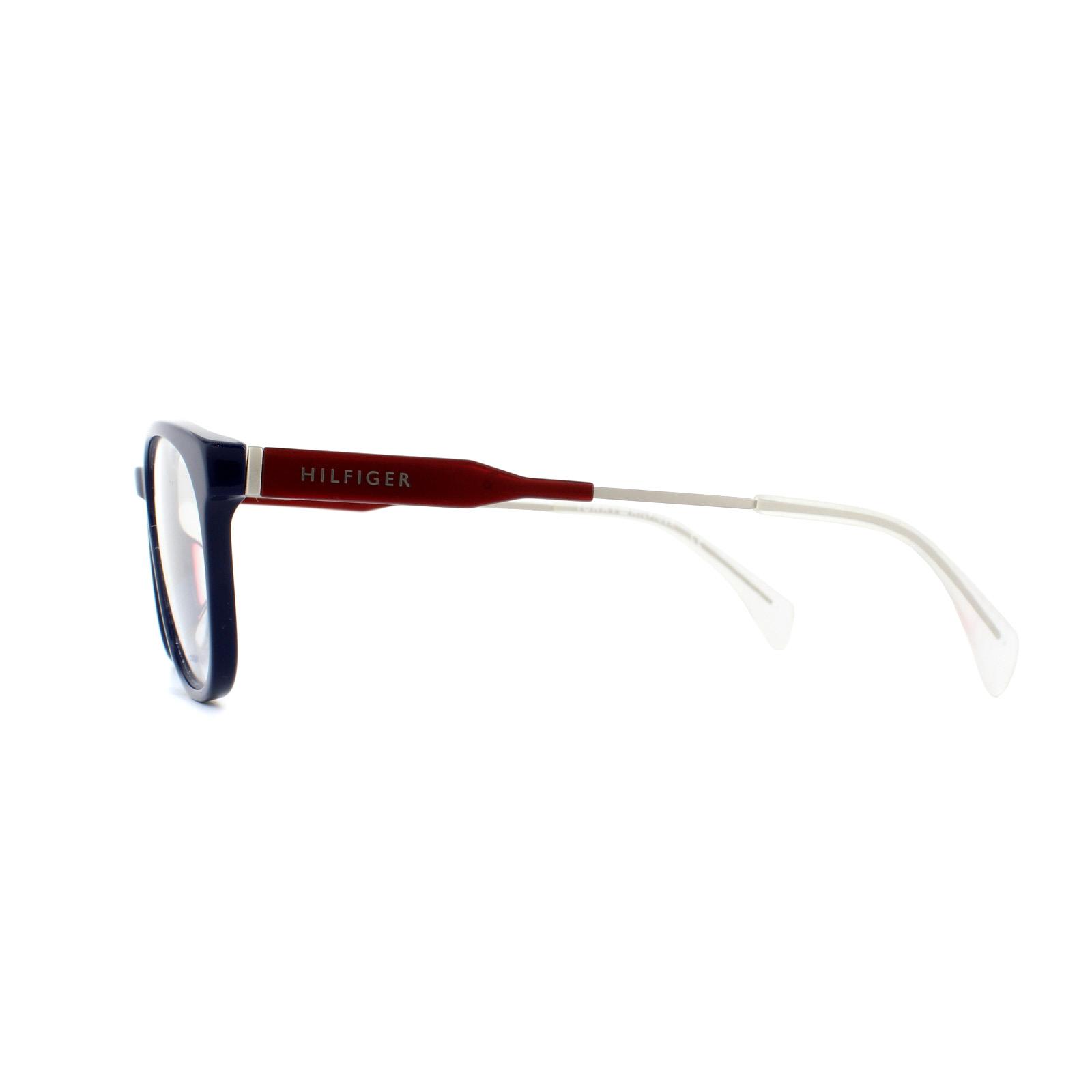 0901f91074f Tommy Hilfiger Glasses Frames TH 1373 JX3 Blue Red 53mm 762753895790 ...