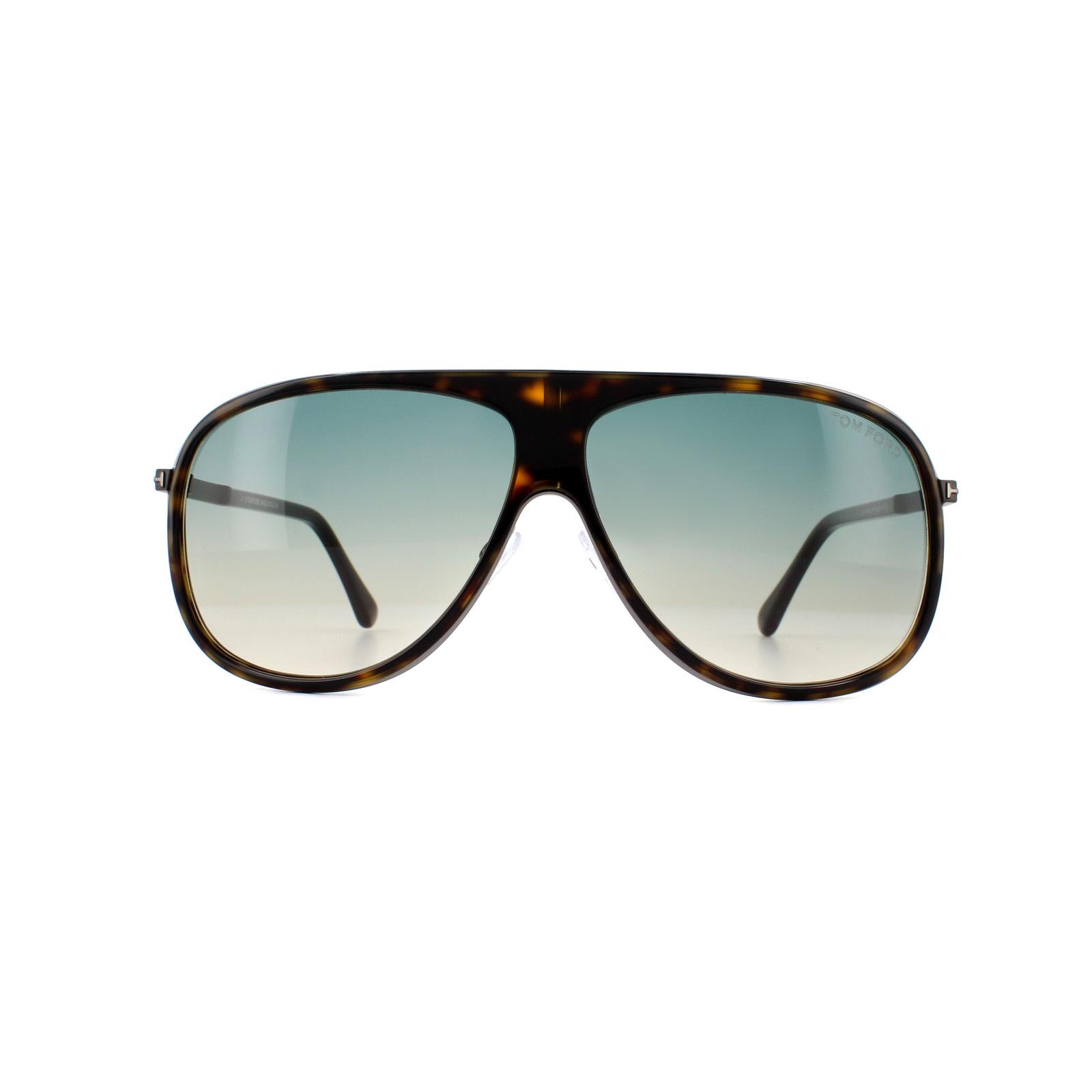 8ba0280898f Sentinel Tom Ford Sunglasses 0462 Chris 56P Havana Black Green Gradient