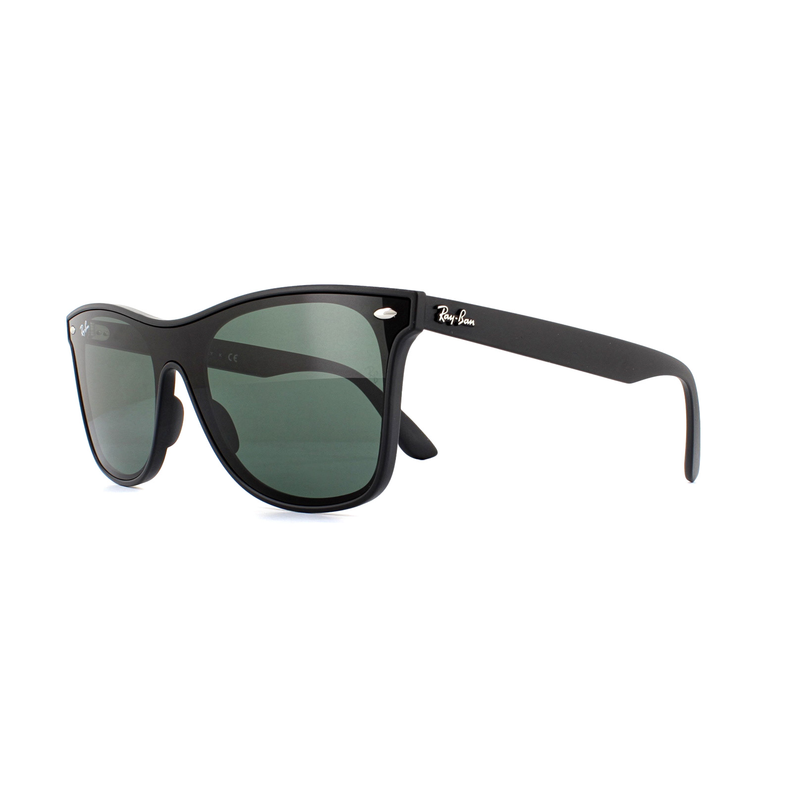 bd7b3845d8 Sentinel Ray-Ban Sunglasses Blaze Wayfarer 4440N 601 71 Black Grey Green