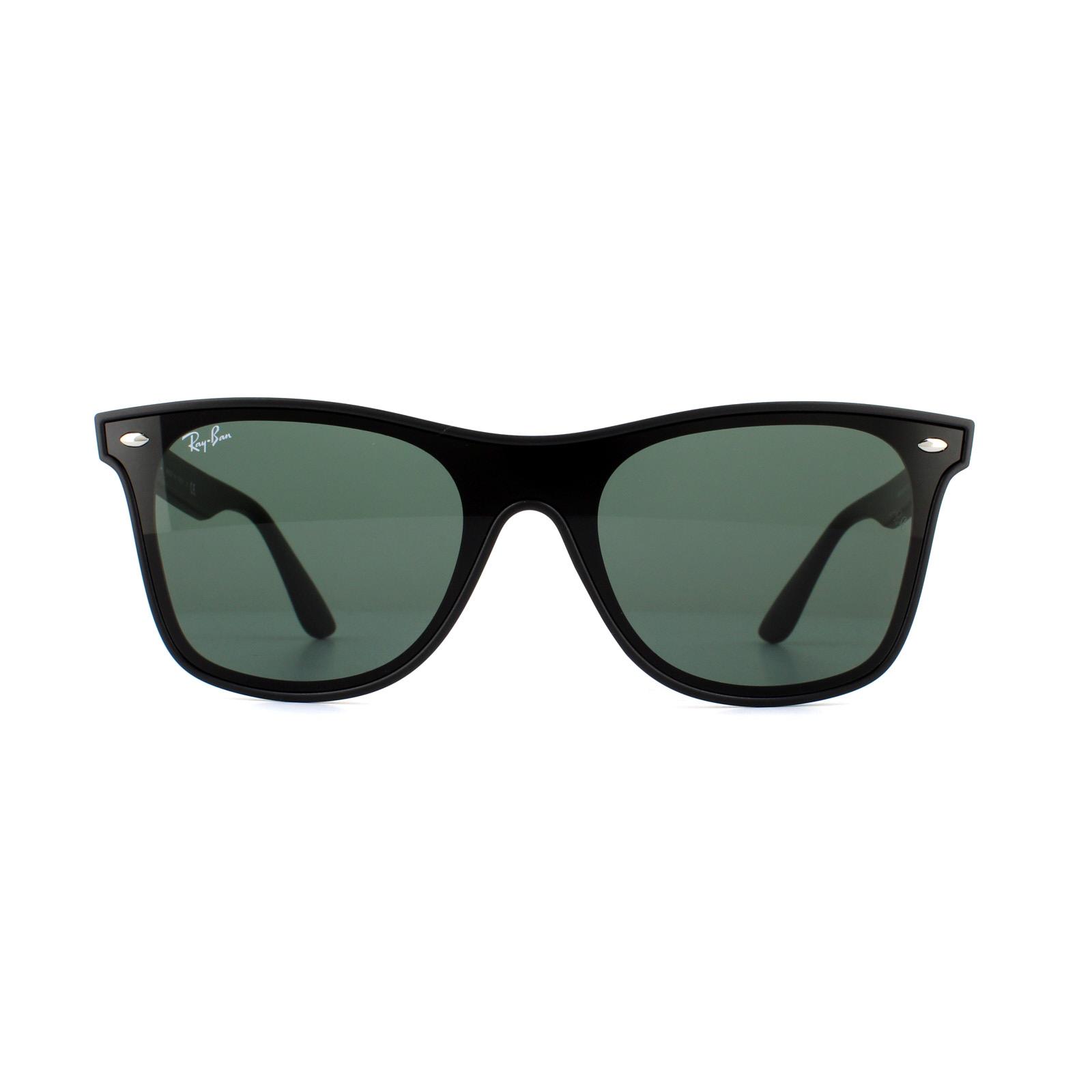88d7aac0d1e Sentinel Ray-Ban Sunglasses Blaze Wayfarer 4440N 601 71 Black Grey Green