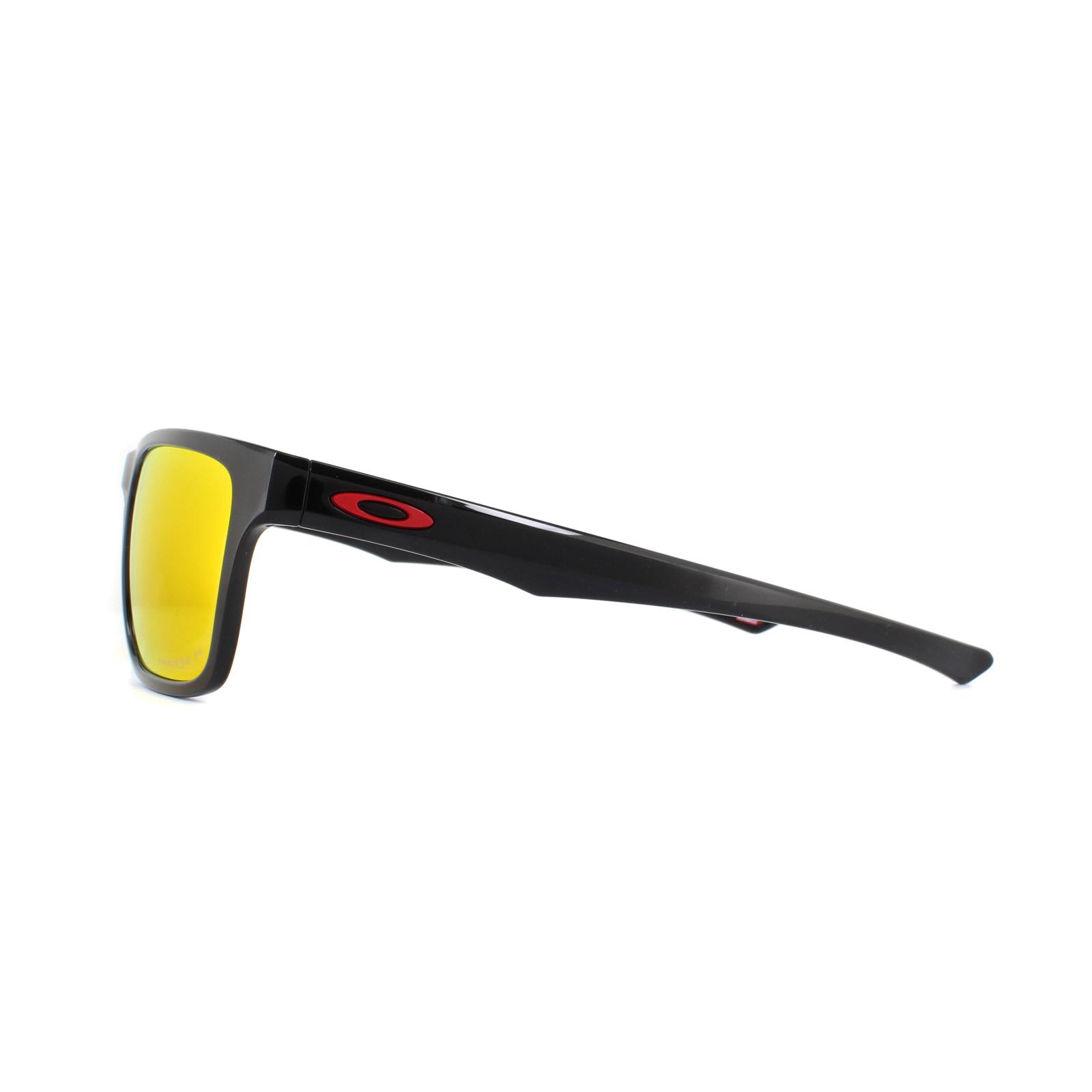 9c22934078 Oakley Sunglasses Holston OO9334-12 Polished Black Prizm Ruby ...
