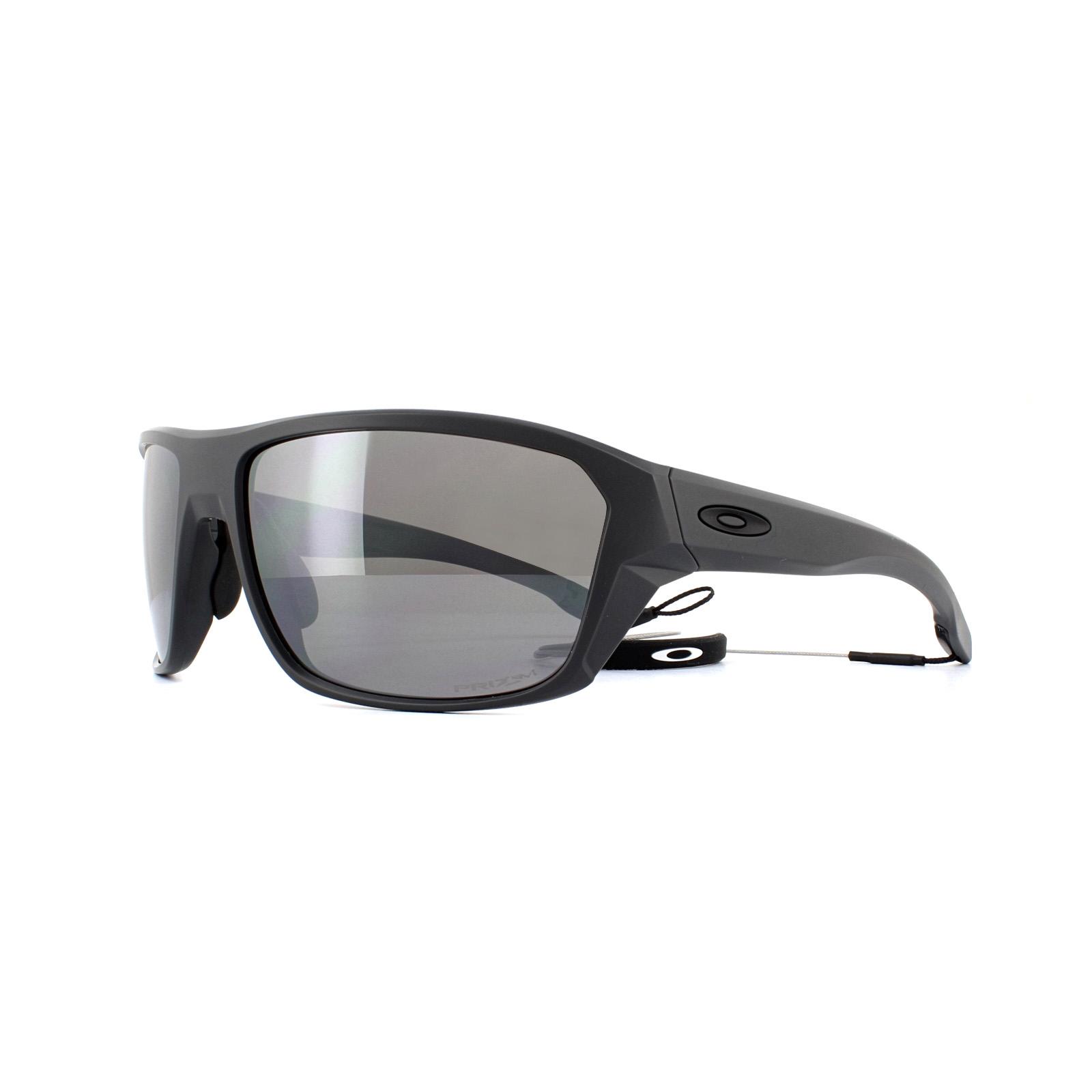 dc56966a9b Sentinel Oakley Sunglasses Split Shot OO9416-06 Matte Black Prizm Deep  Water Polarized