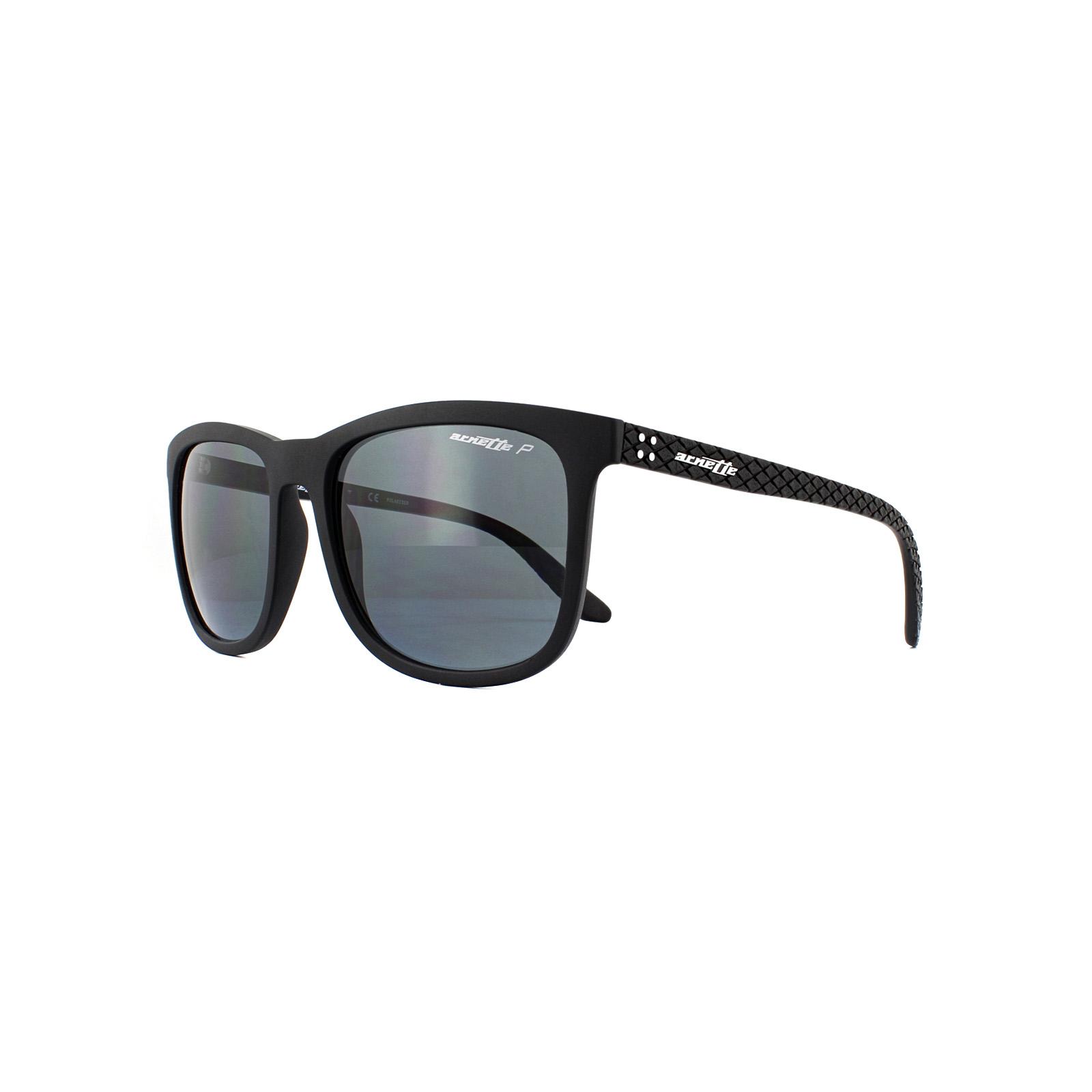 Sentinel Arnette Sunglasses Chenga 4240 01 81 Matte Black Grey Polarized 32309c5fe3