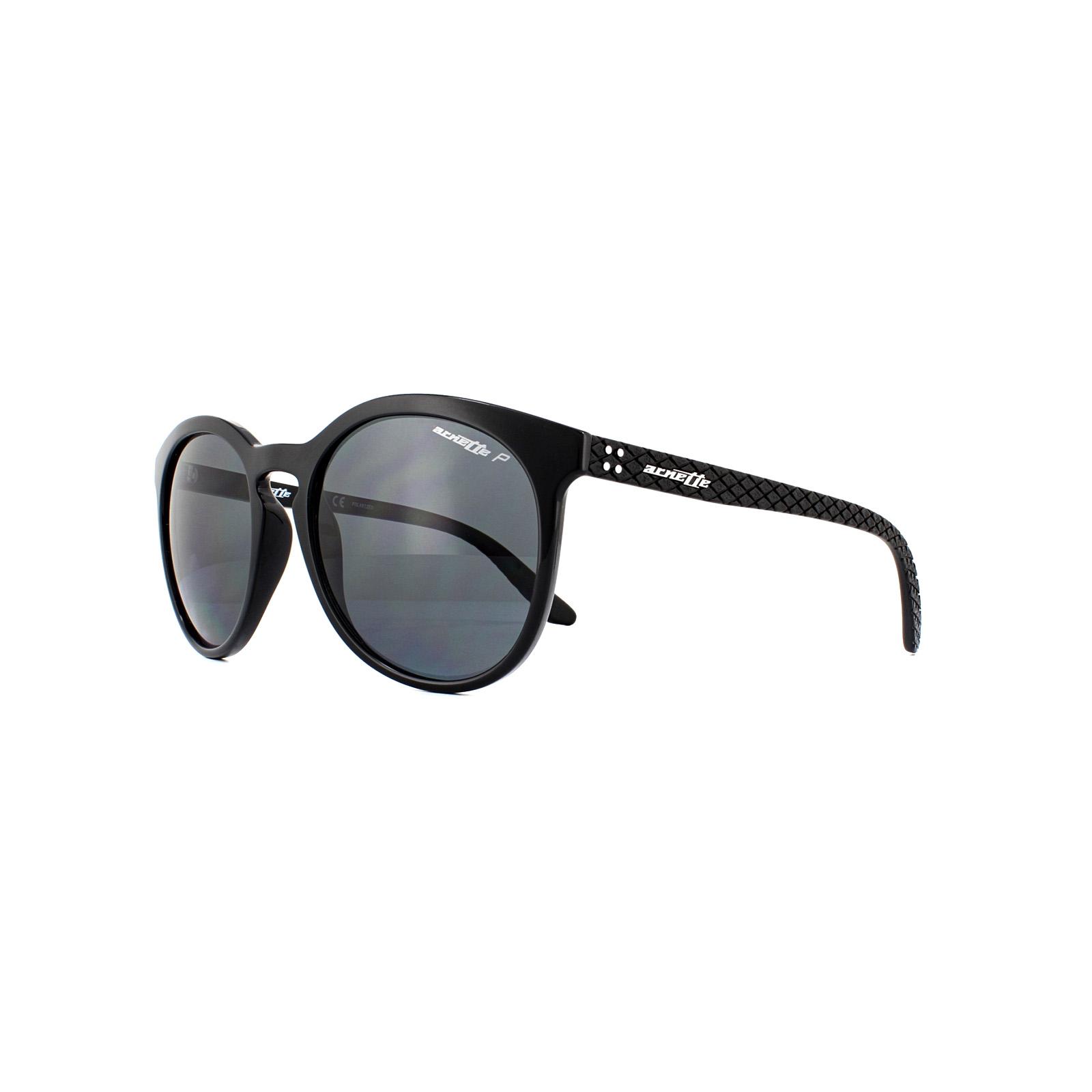 44b09a5b350 Sentinel Arnette Sunglasses Chenga R 4241 41 81 Matte Black Grey Polarized