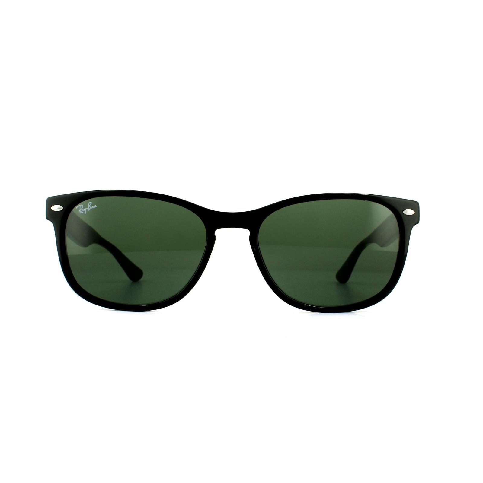 c60cad96767 Ray-Ban Sunglasses RB2184 901 31 Black Green 8053672970890