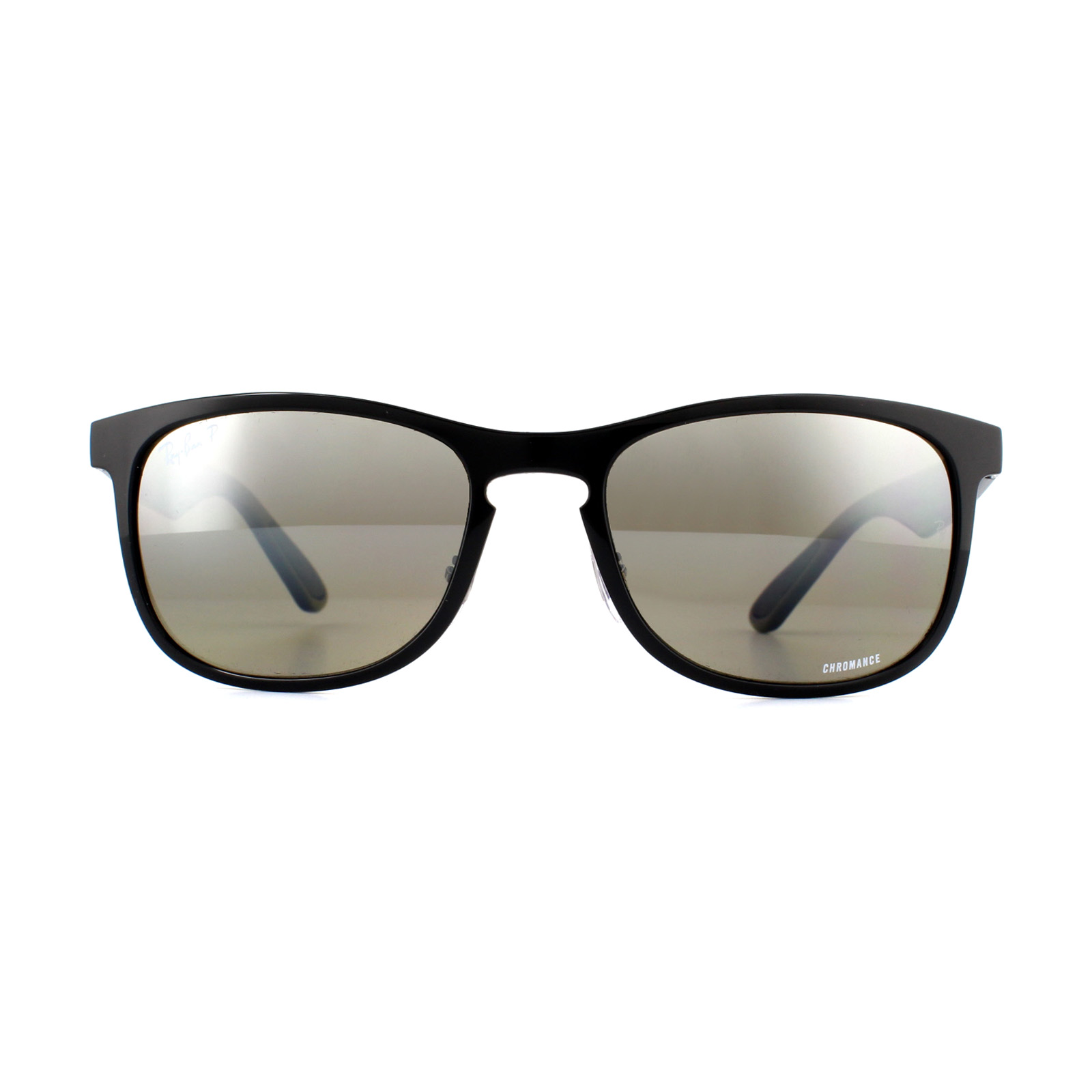 a90938921f Sentinel Ray-Ban Sunglasses RB4263 601 5J Black Grey Polarized Mirror  Silver Chromance
