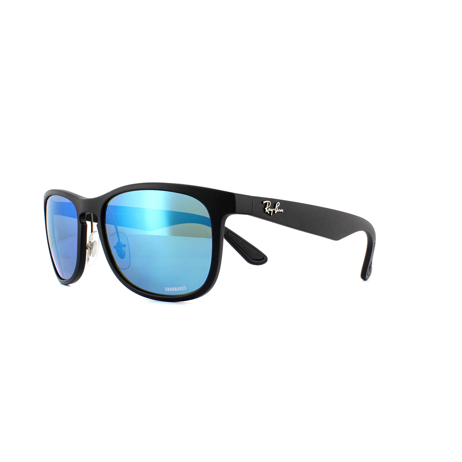 Ray Ban Sunglasses Rb4263 601sa1 Matte Black Blue Mirror Polarized