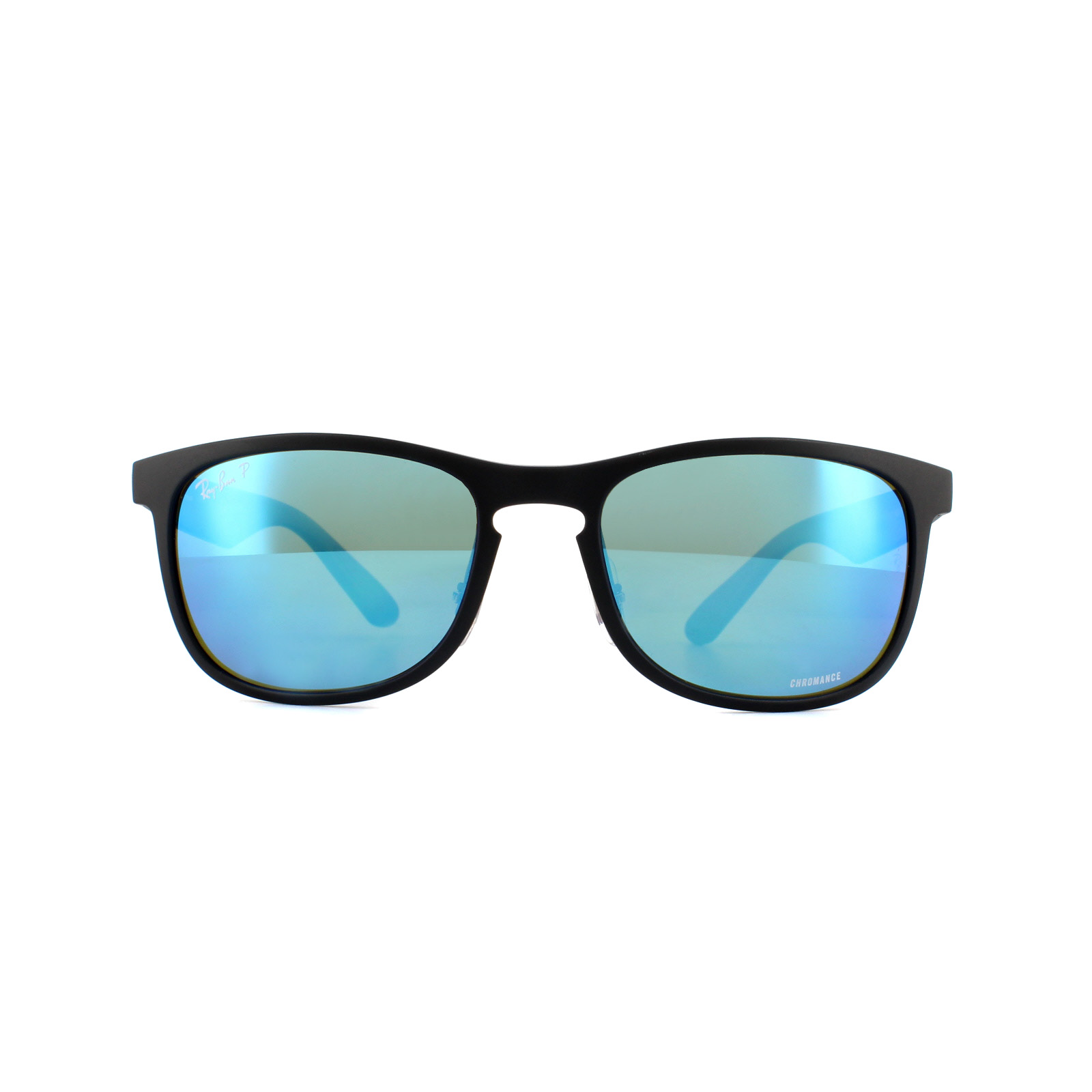 b912b2158f05 Sentinel Ray-Ban Sunglasses RB4263 601SA1 Matte Black Blue Mirror Polarized  Chromance