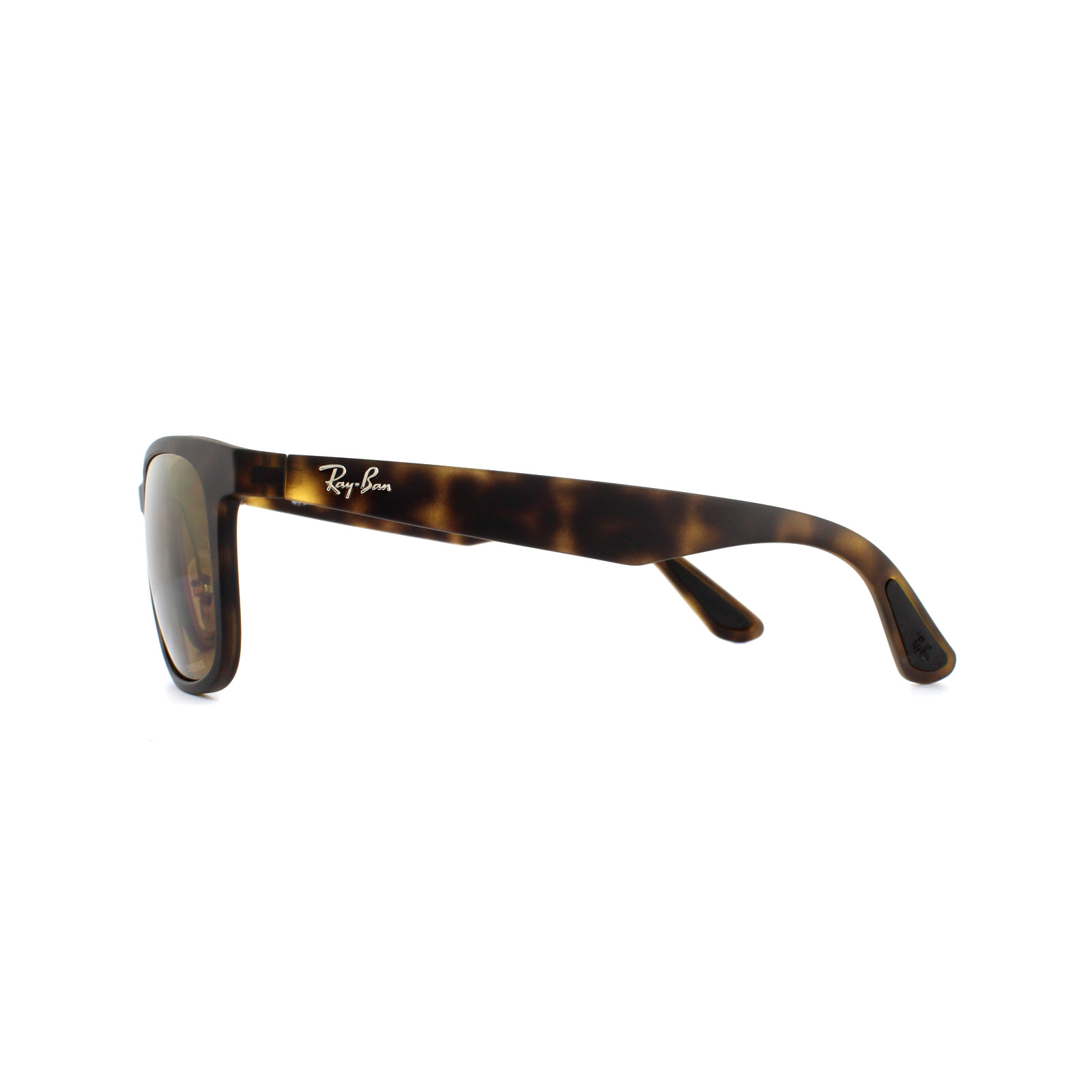 d7d29163f2 Sentinel Ray-Ban Sunglasses RB4263 894 A3 Matte Havana Bronze Polarized  Miror Chromance