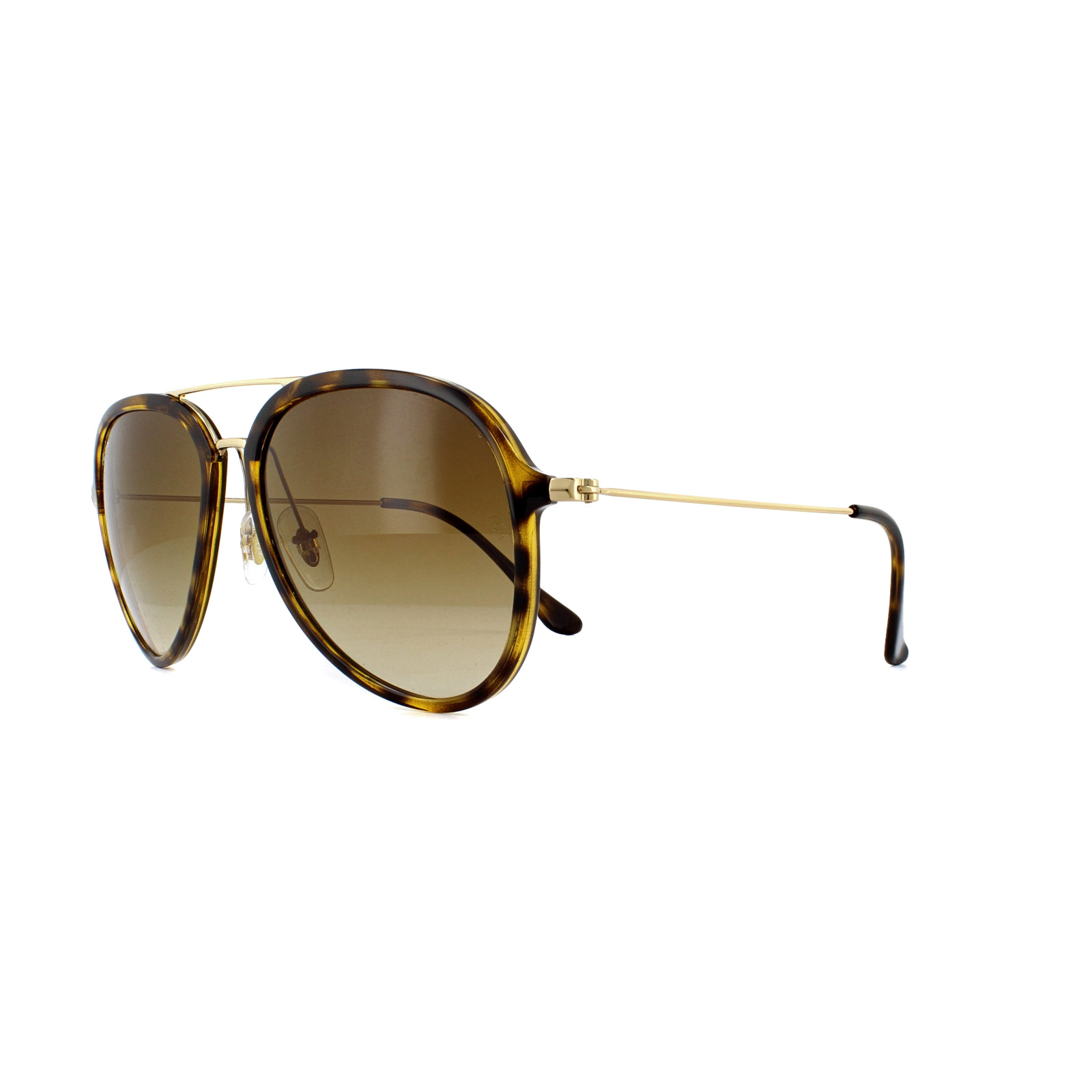 Sentinel Ray-Ban Sunglasses RB4298 710 51 Light Havana Crystal Brown  Gradient 589ea18b2c