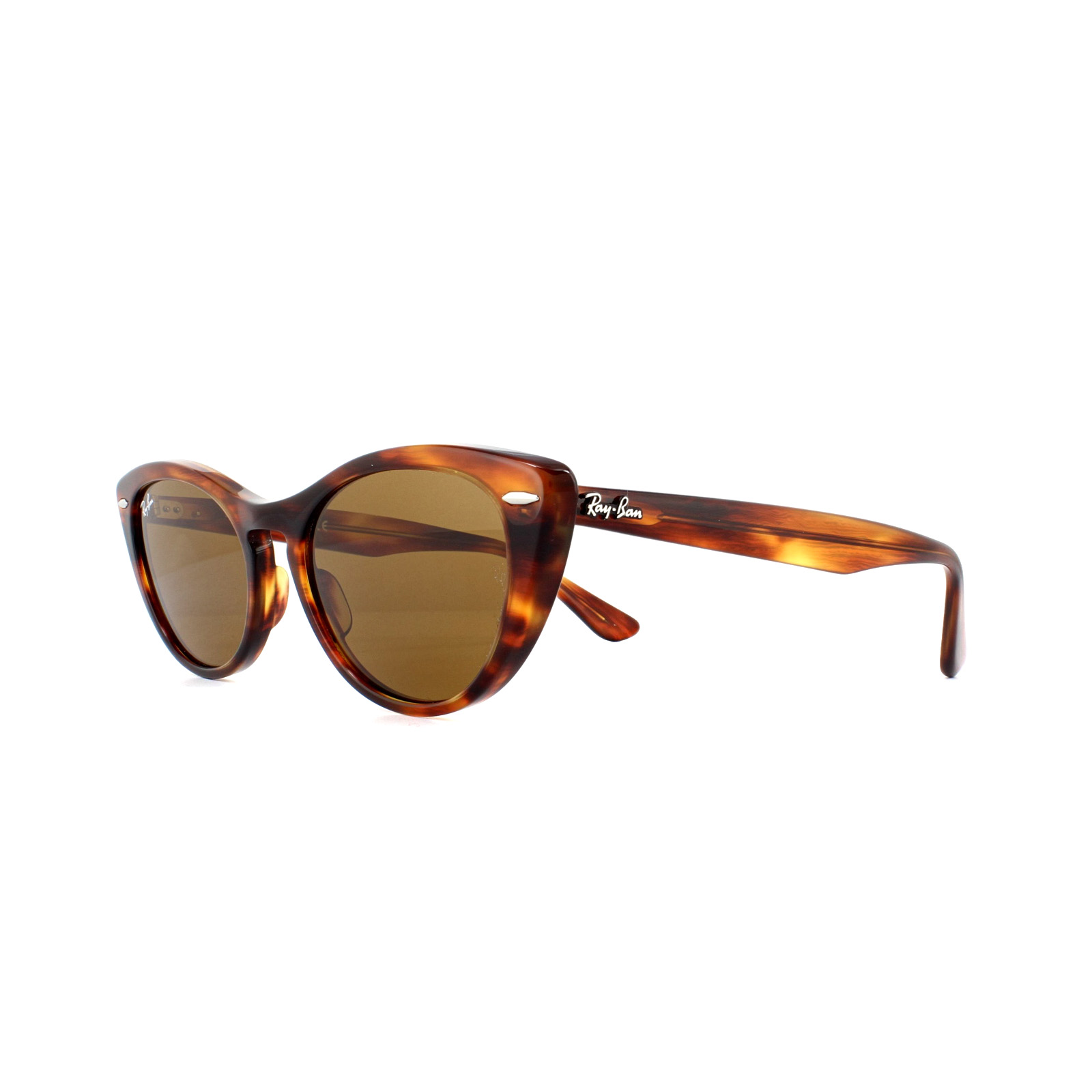 9e26fb6ce4c98 Ray-Ban Sunglasses Nina RB4314N 954 33 Havana Brown 8053672970715