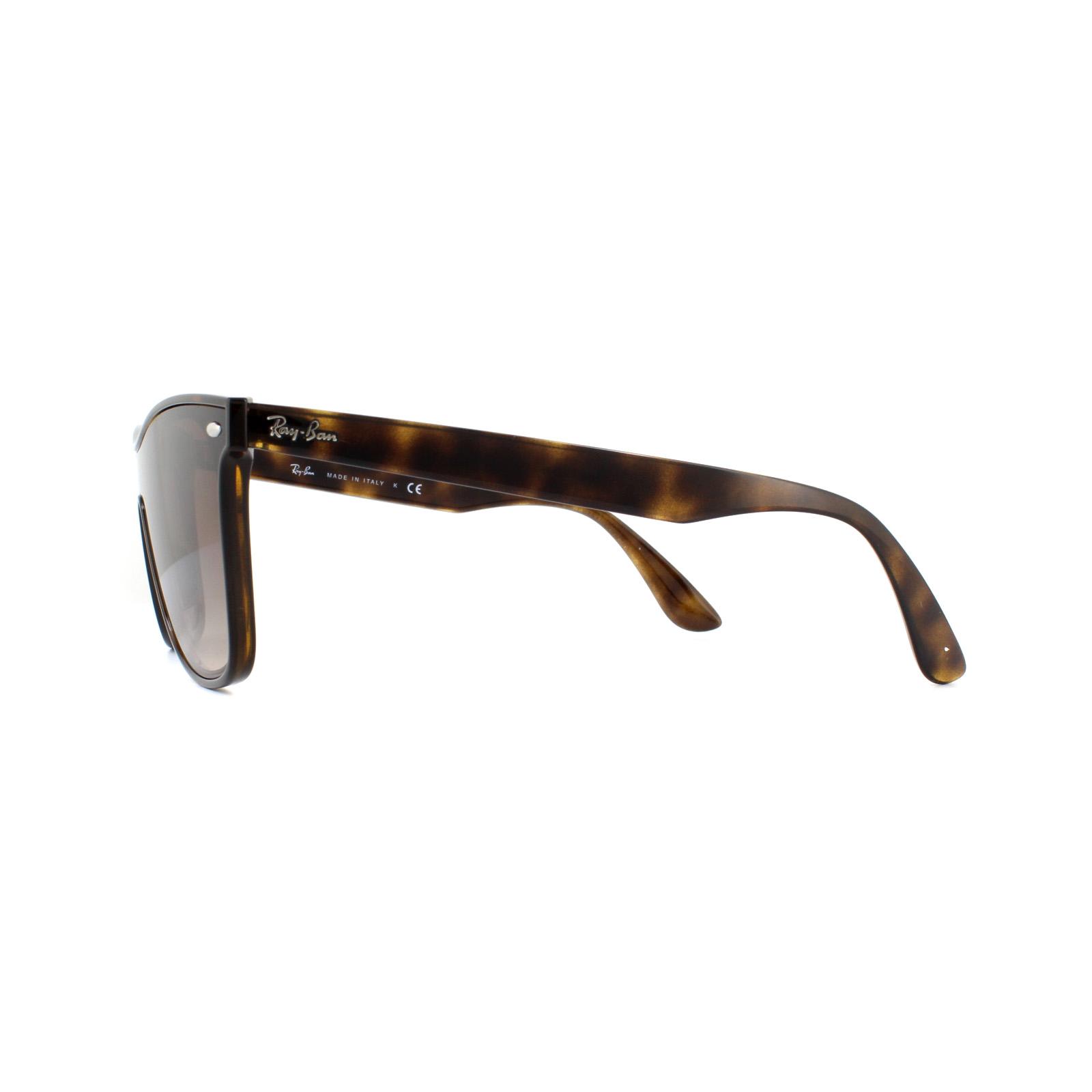 ae3811490d5 Sentinel Ray-Ban Sunglasses Blaze Wayfarer 4440N 710 13 Light Havana Brown  Gradient