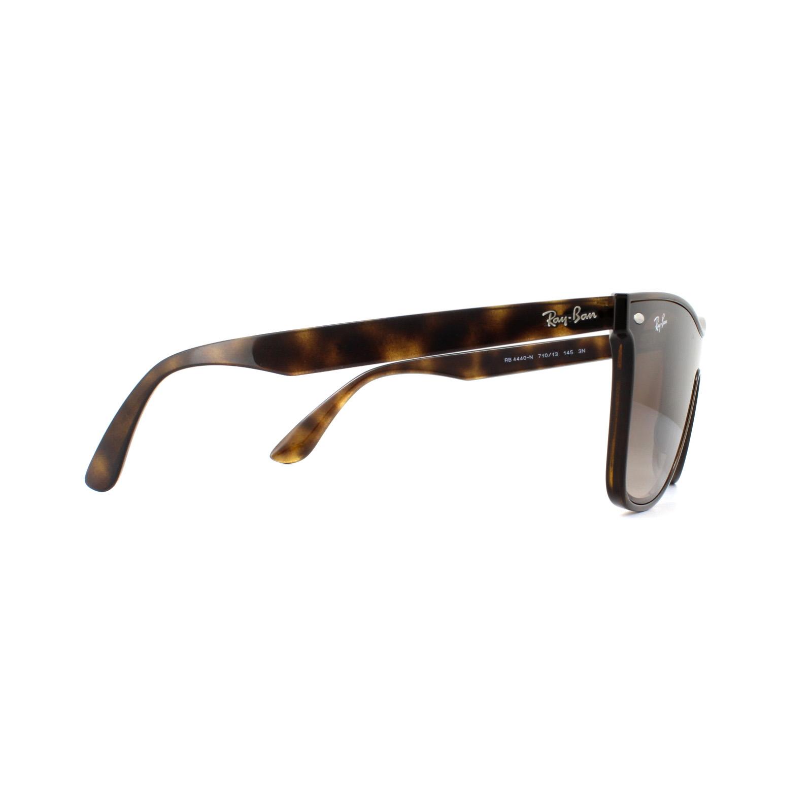 ffd5955d9323a Sentinel Ray-Ban Sunglasses Blaze Wayfarer 4440N 710 13 Light Havana Brown  Gradient